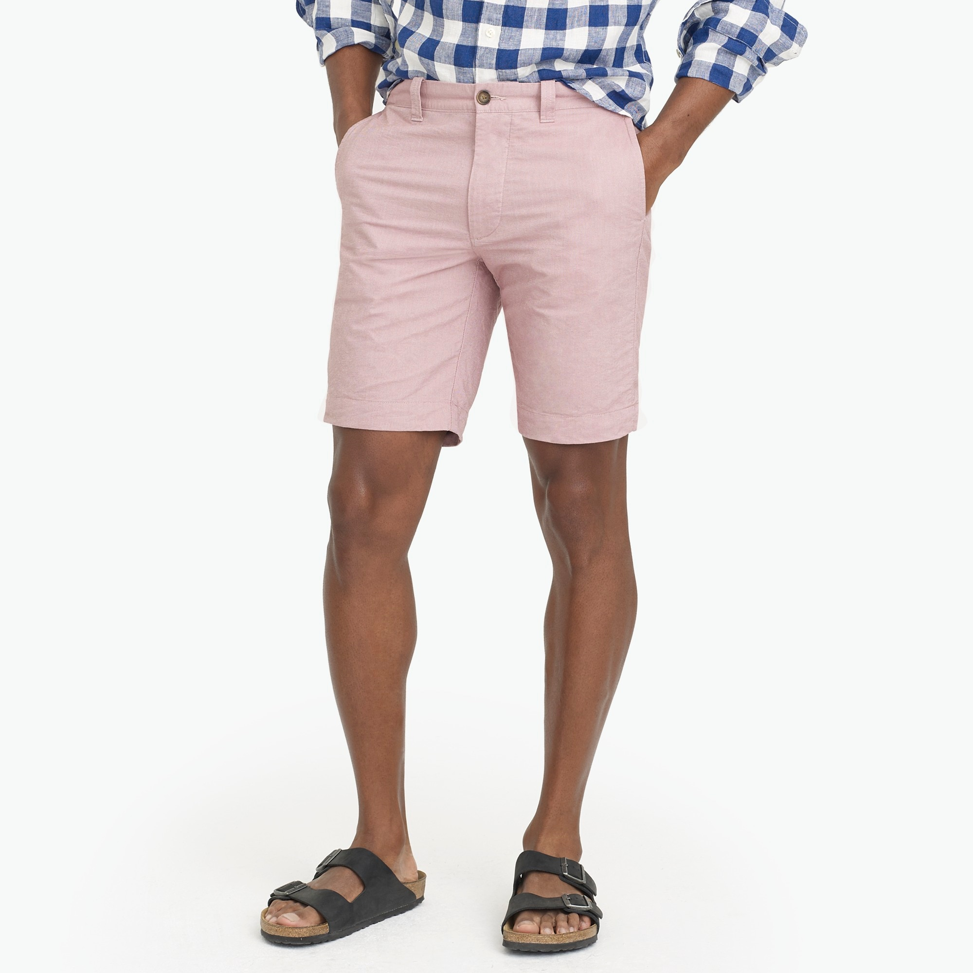 "9"" Gramercy oxford short"