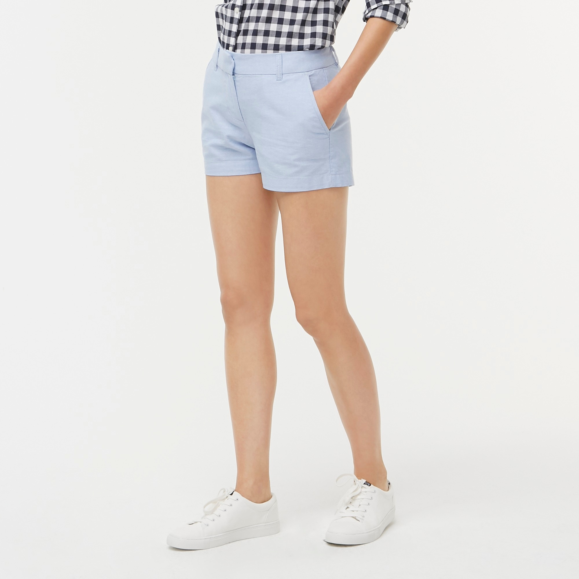 "factory womens 3 1/2"" oxford short"