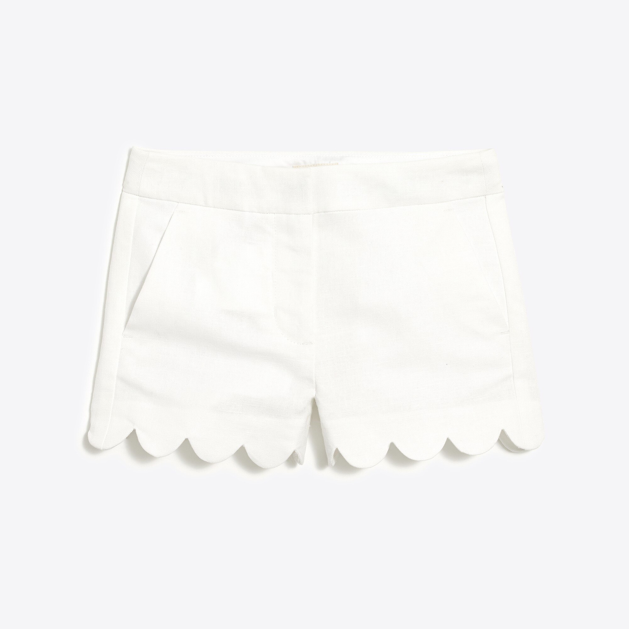 girls' scallop-hem short : factorygirls printed & novelty