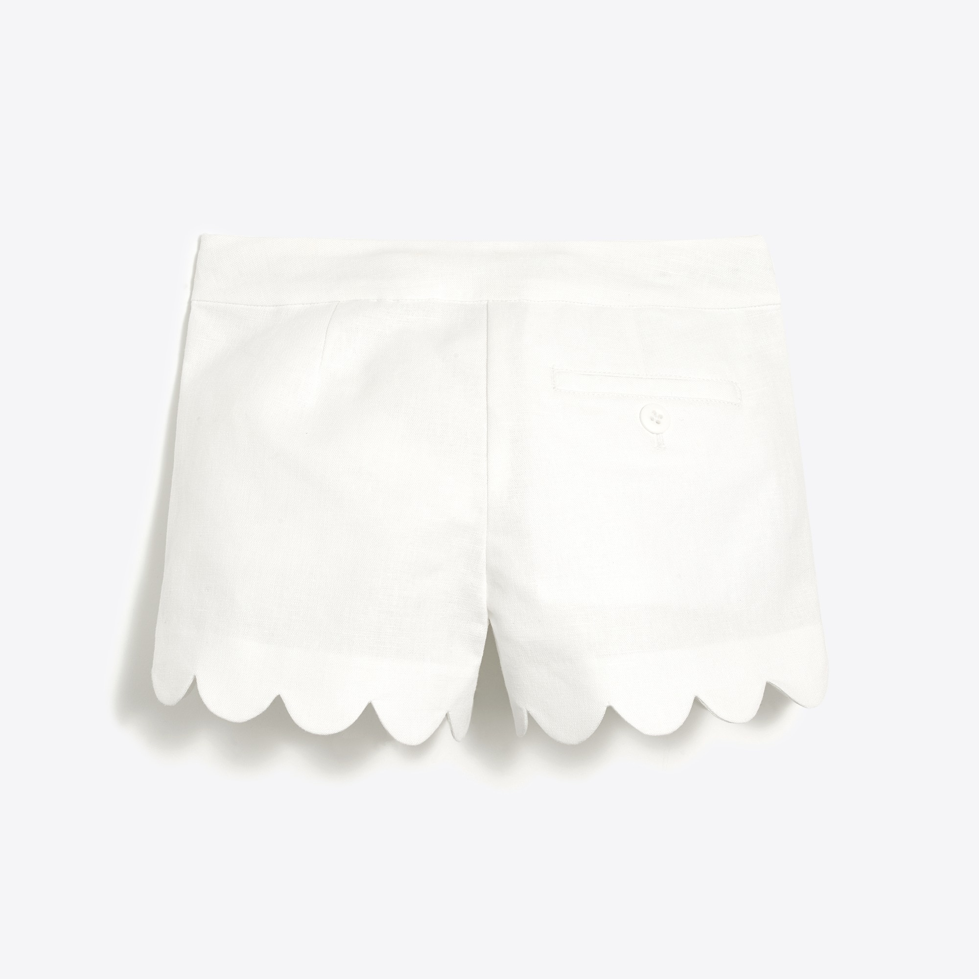 Image 2 for Girls' scallop-hem short
