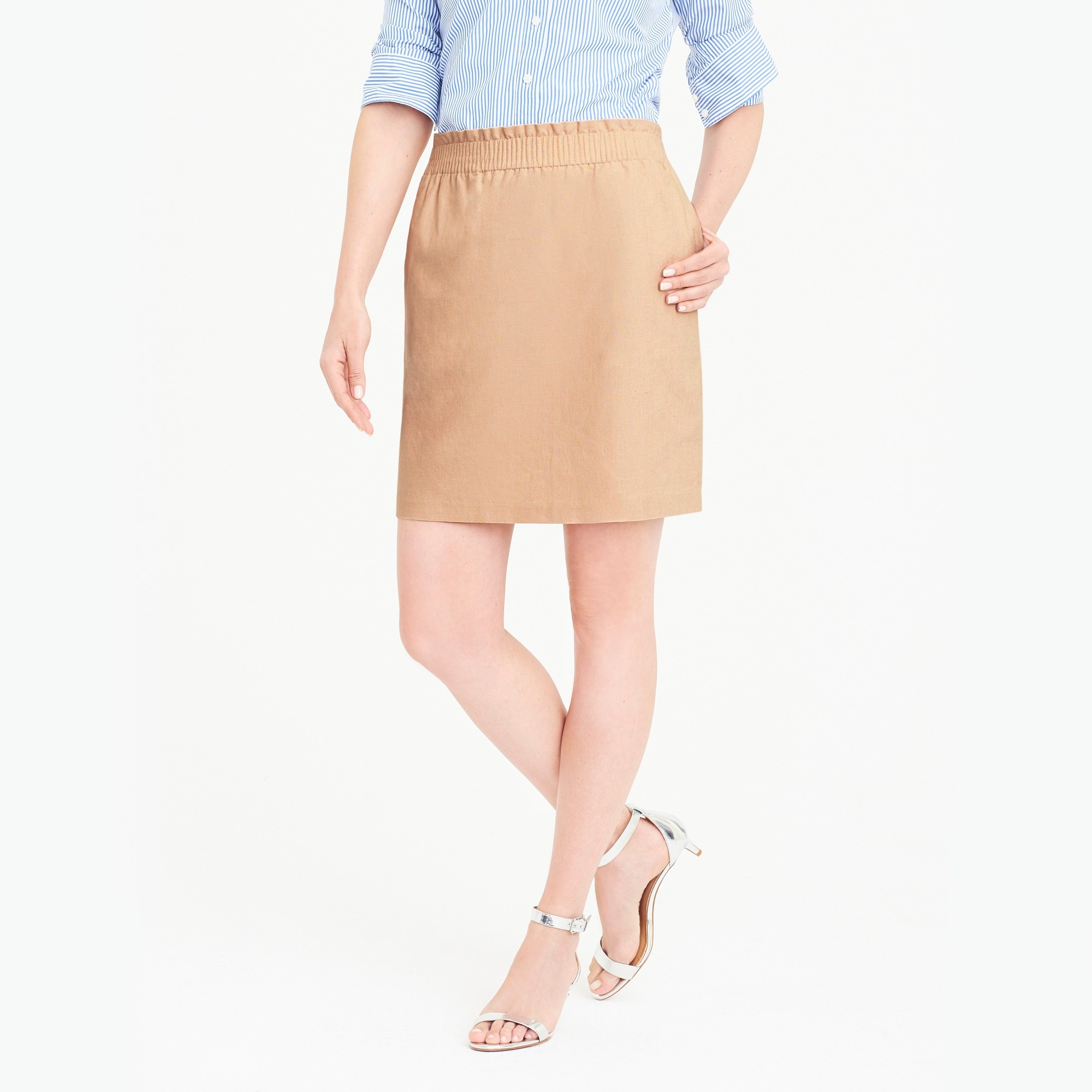 Sidewalk skirt factorywomen the score: tie-shoulder t-shirts and sidewalk skirts c