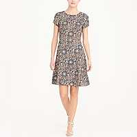 Image 1 for Short-sleeve flutter dress