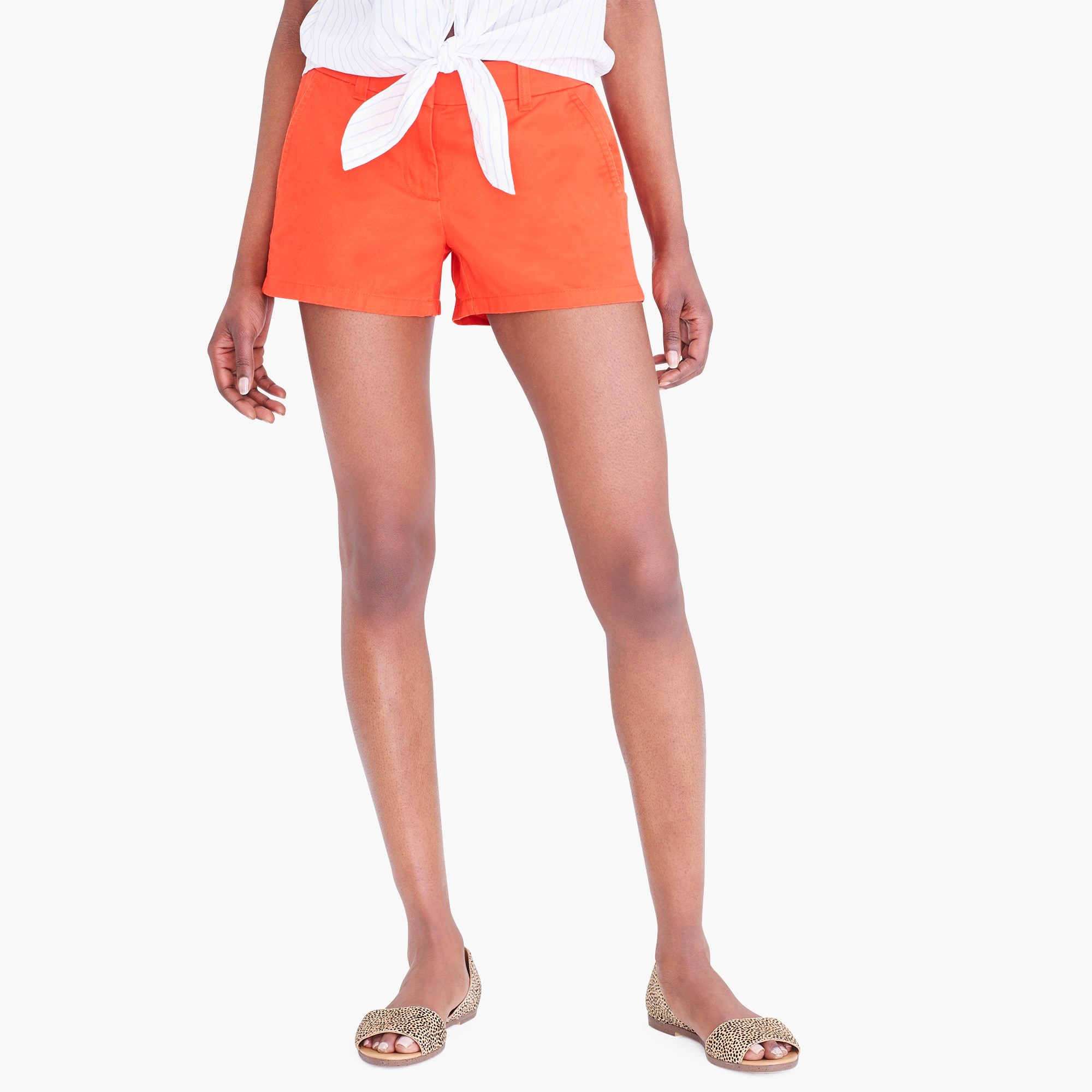 "factory womens 3 1/2"" chino short"