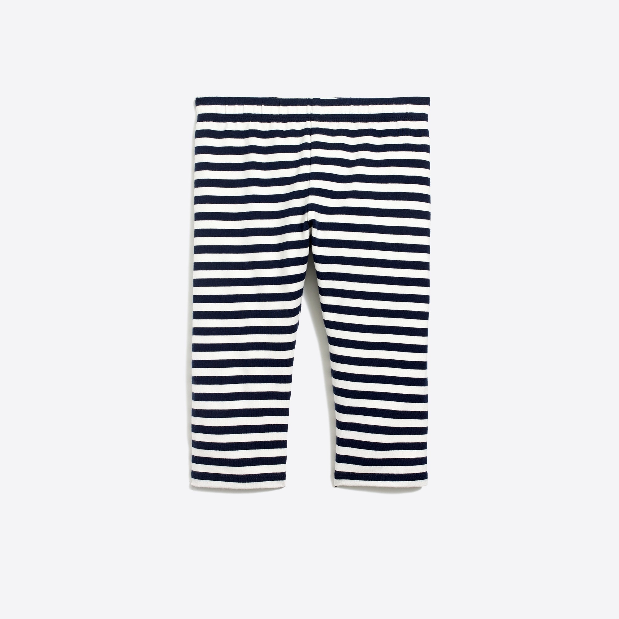 Image 1 for Girls' striped capri leggings