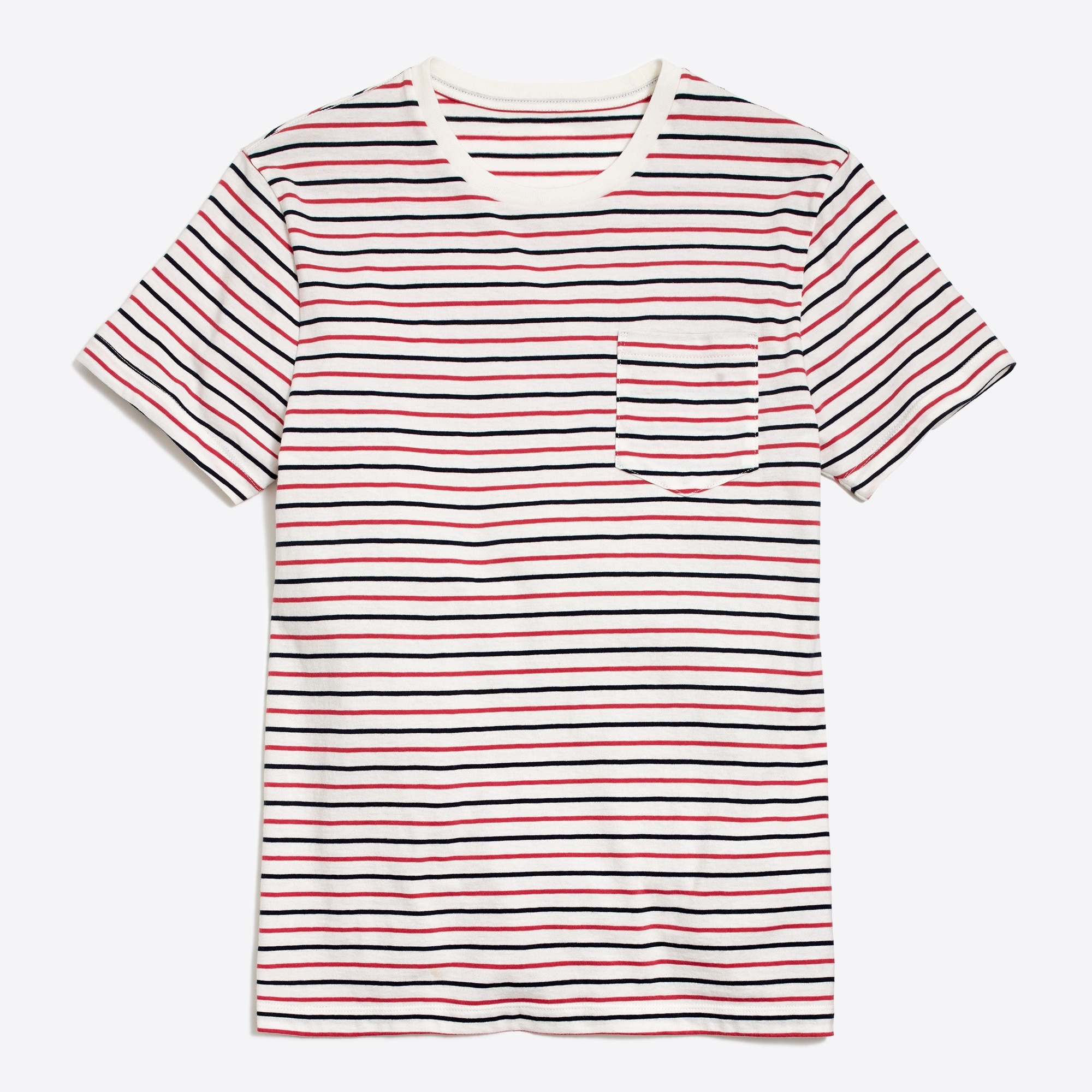 J.Crew Mercantile Broken-in seaside striped T-shirt