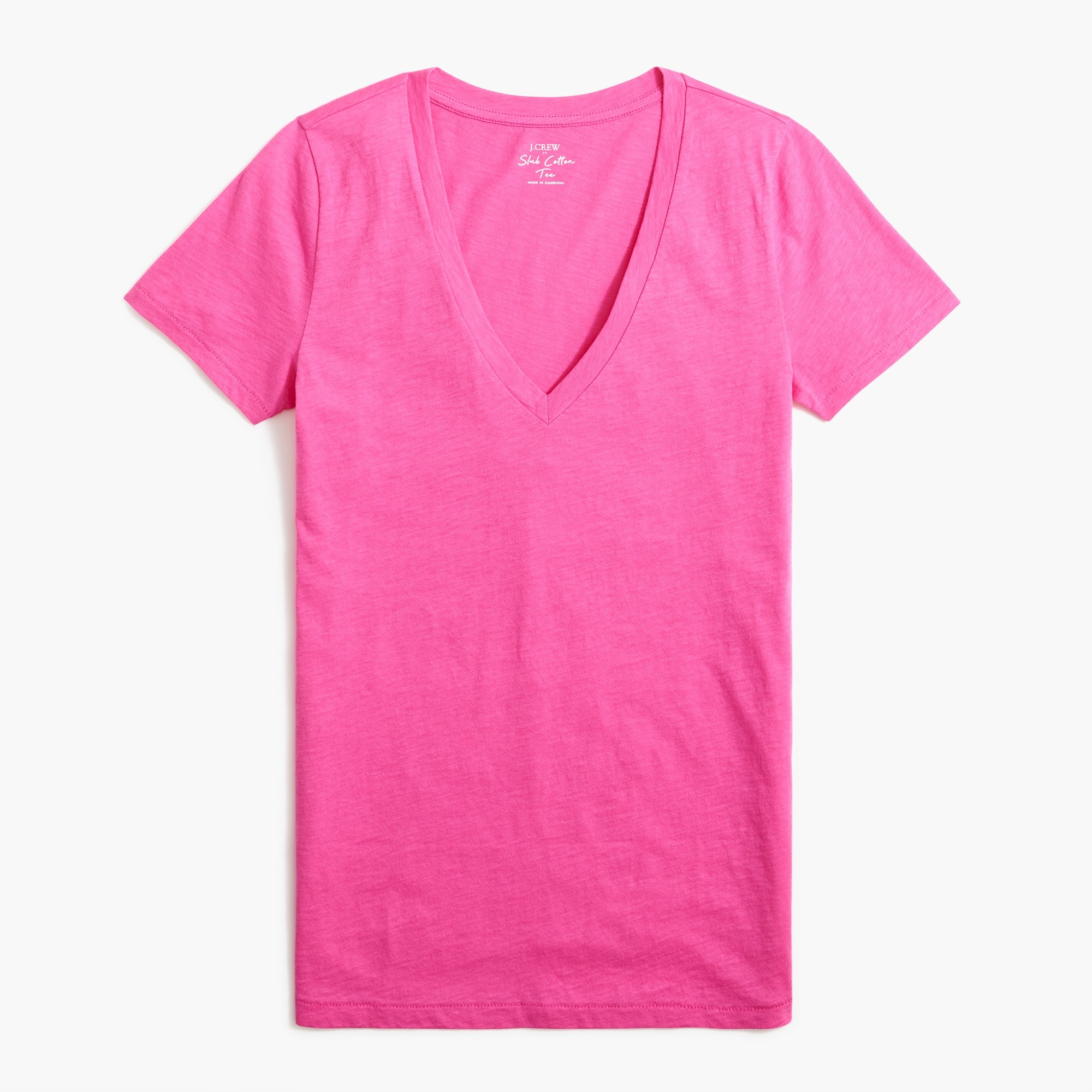 J.Crew Mercantile Featherweight Slub Cotton T-shirt factorywomen new arrivals c