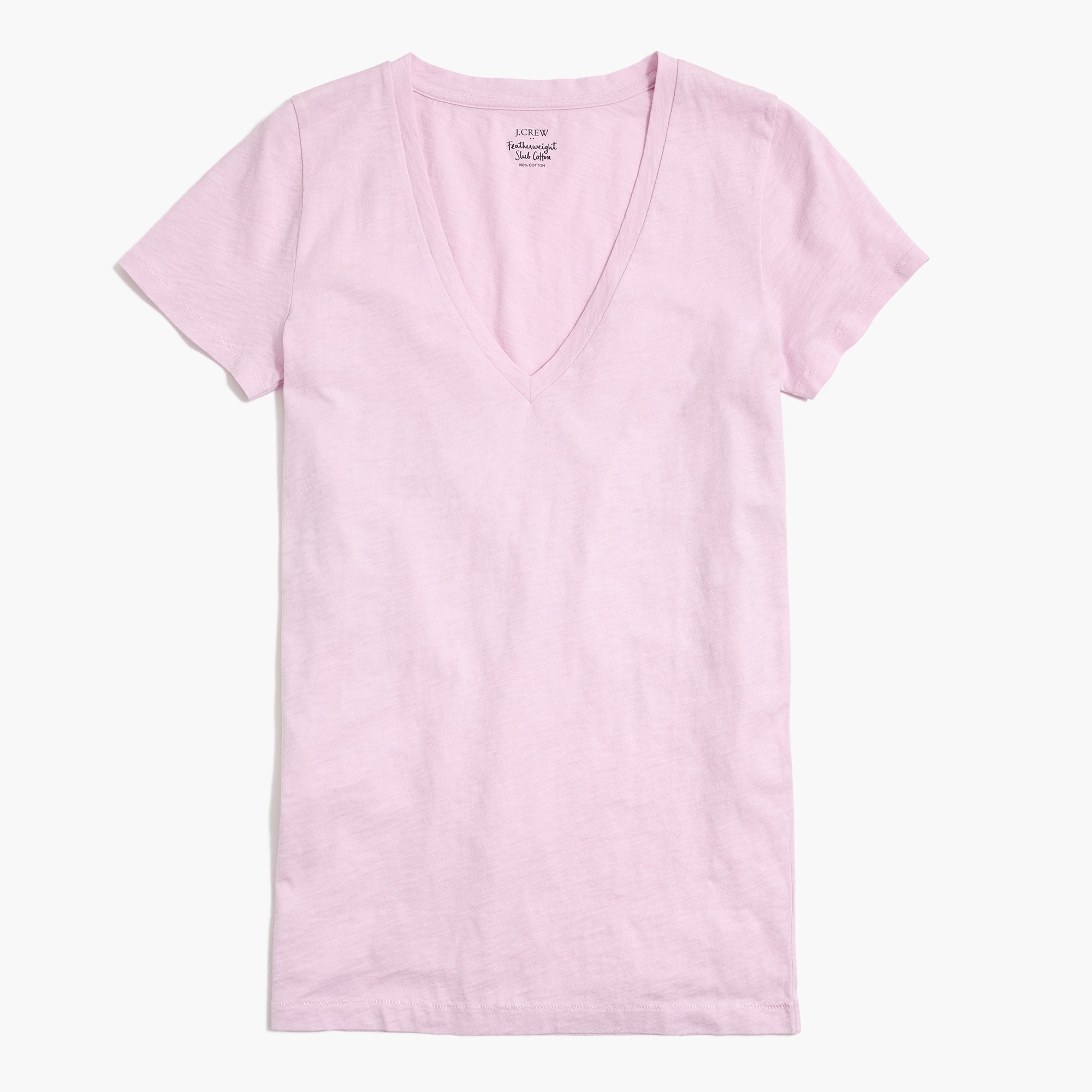 Featherweight slub cotton T-shirt