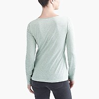 Image 3 for Long-sleeve striped artist T-shirt