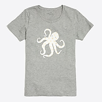 Image 2 for Dotted octopus collector T-shirt
