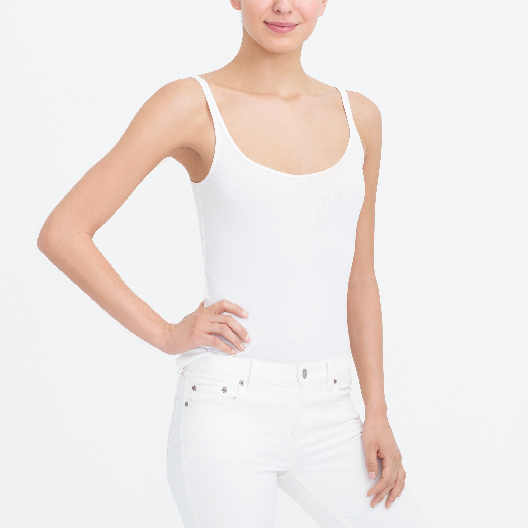 perfect-fit tank top : factorywomen sleeveless