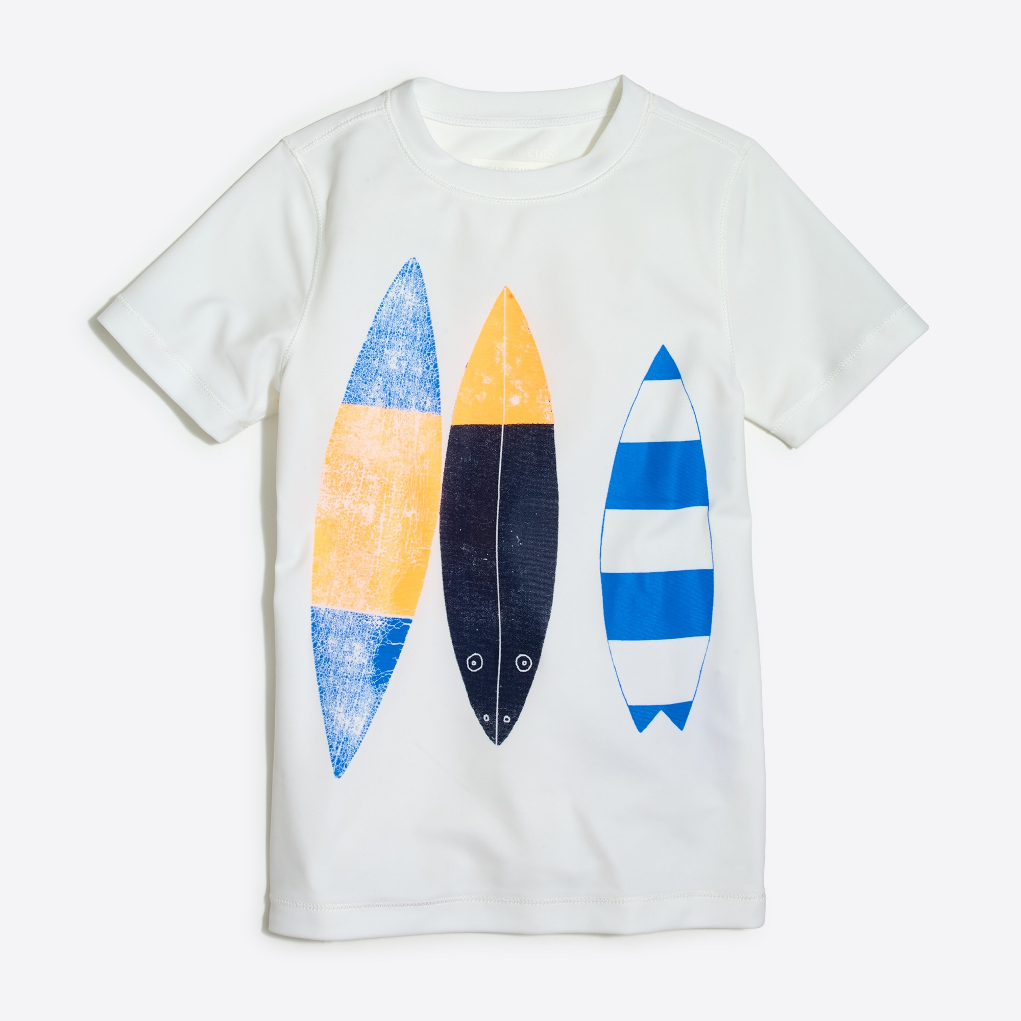 Boys' short-sleeve surfboard graphic rashguard factoryboys the camp shop c
