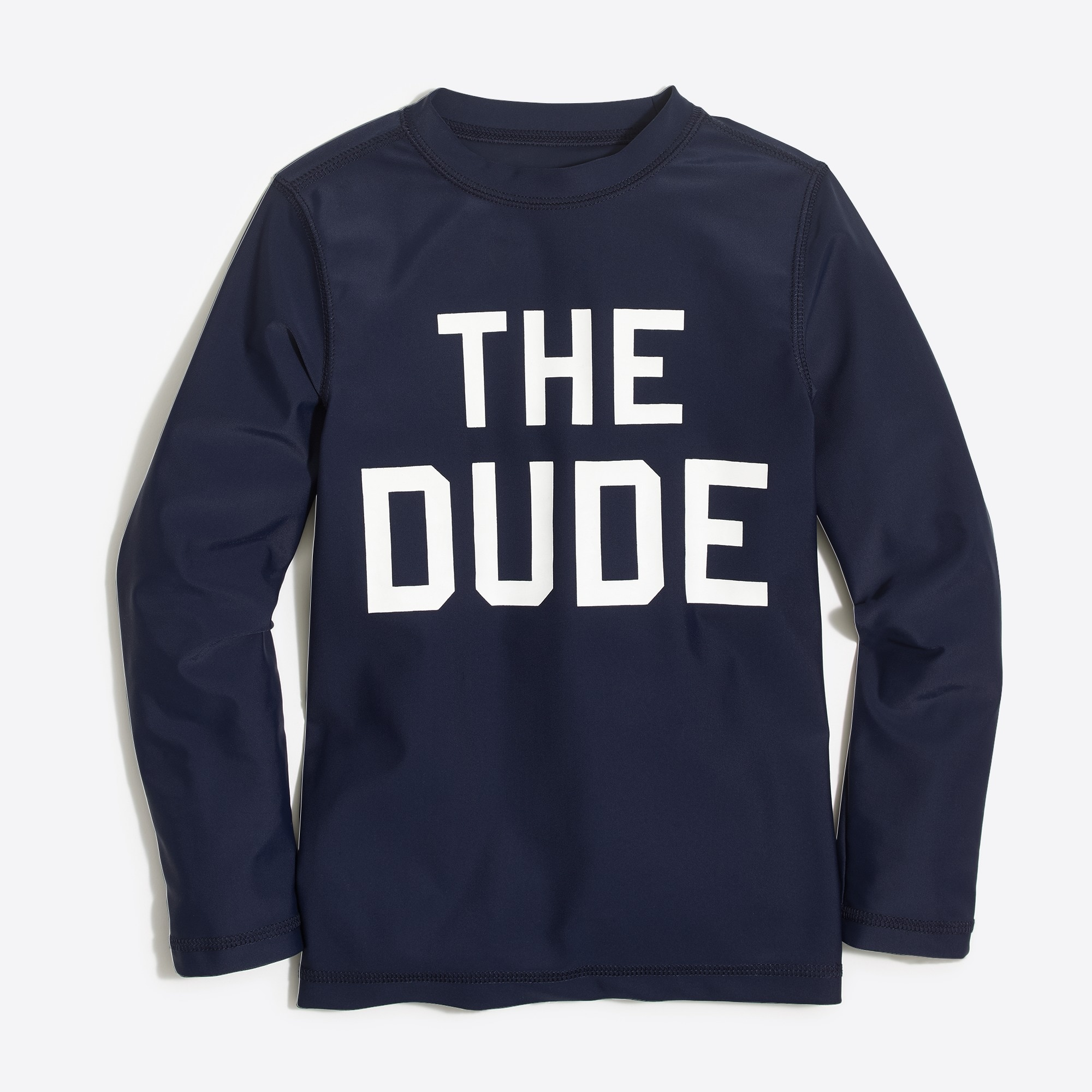 Image 1 for Boys' long-sleeve The Dude graphic rashguard