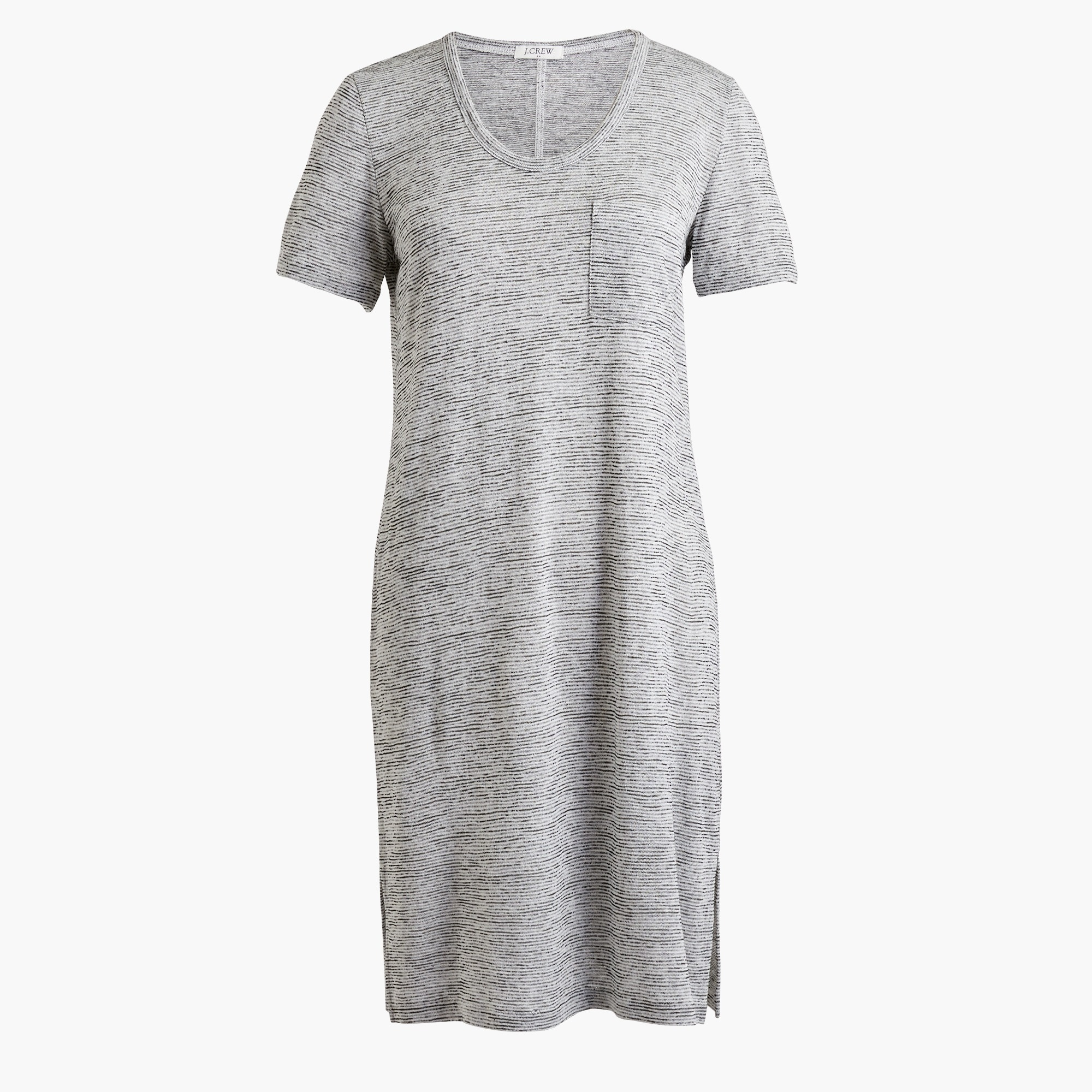 Image 2 for Short-sleeve pocket T-shirt dress