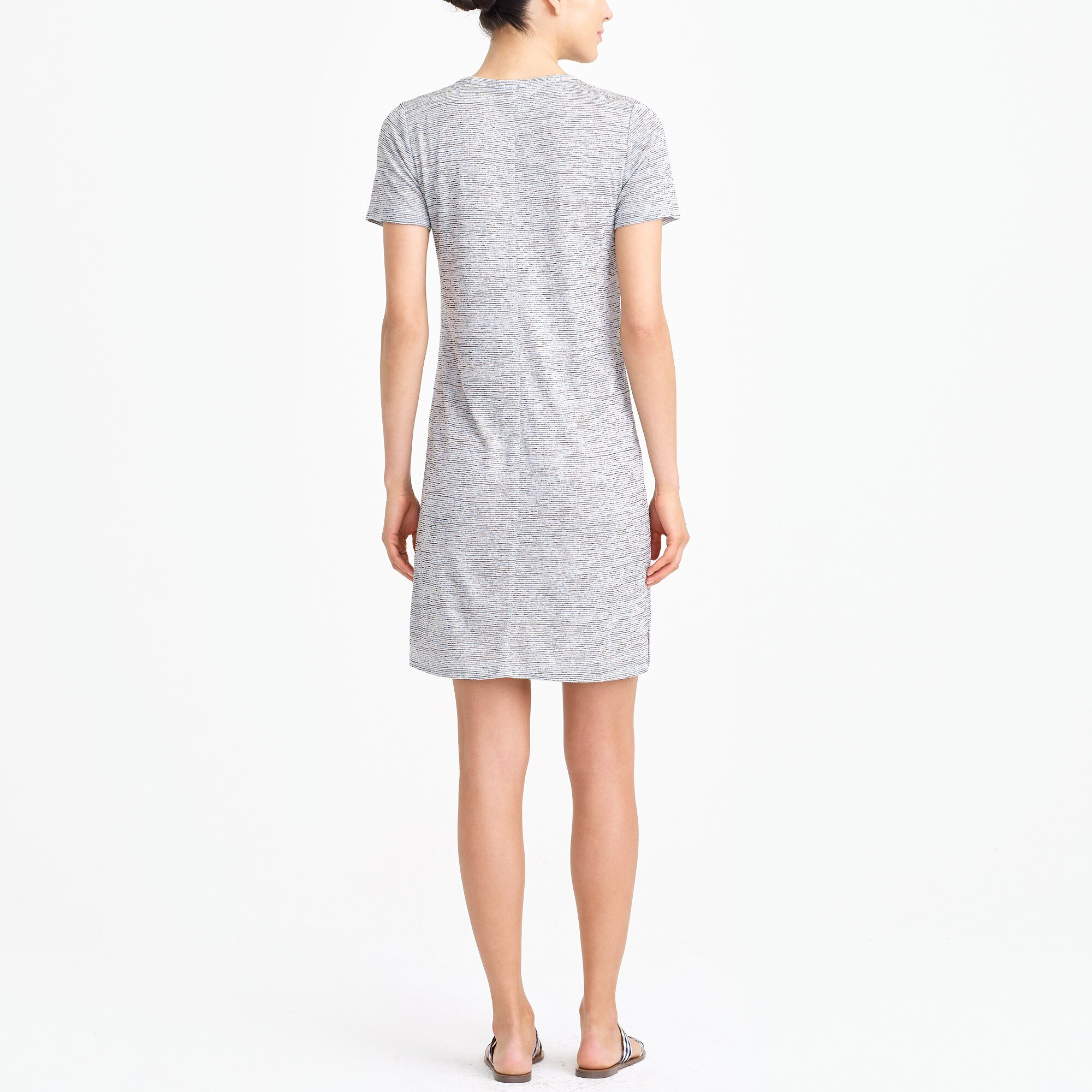 Image 3 for Short-sleeve pocket T-shirt dress
