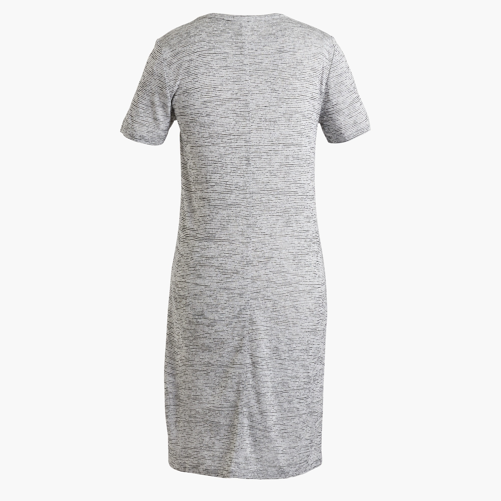 Short-sleeve pocket T-shirt dress