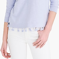 Image 3 for Tassel hem sweater