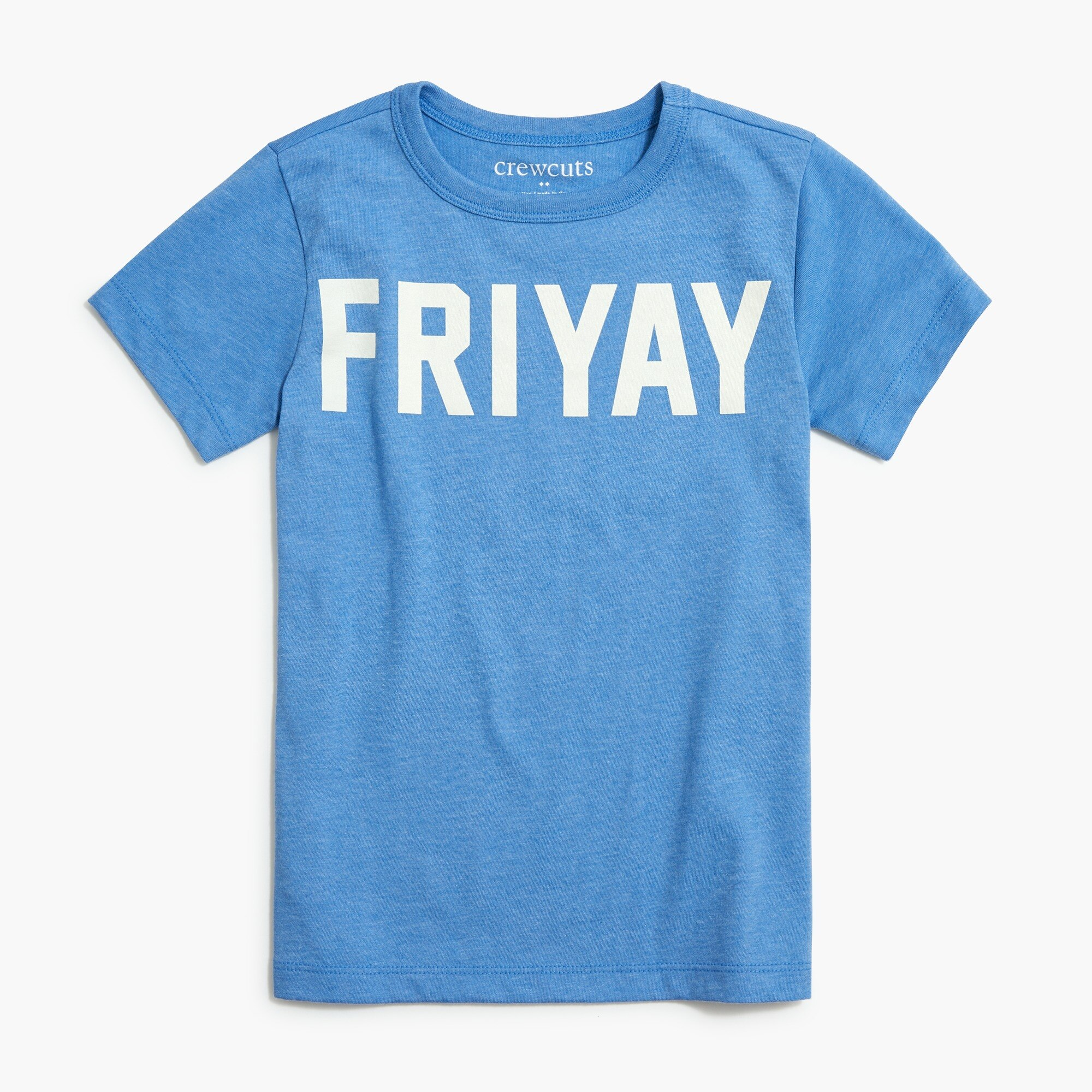 "factory boys Boys' short-sleeve ""friyay"" graphic T-shirt"