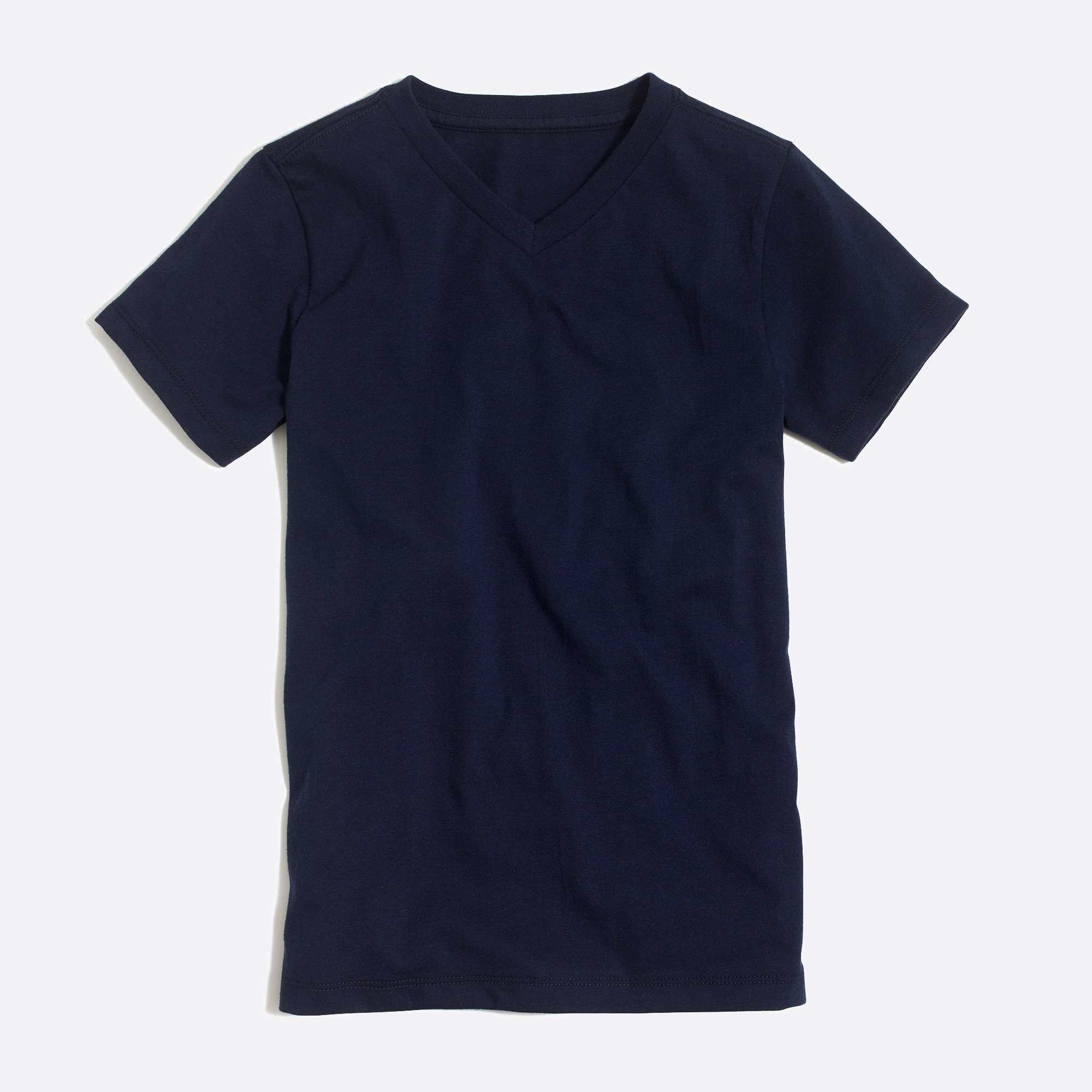 boys' short-sleeve jersey v-neck t-shirt : factoryboys solid