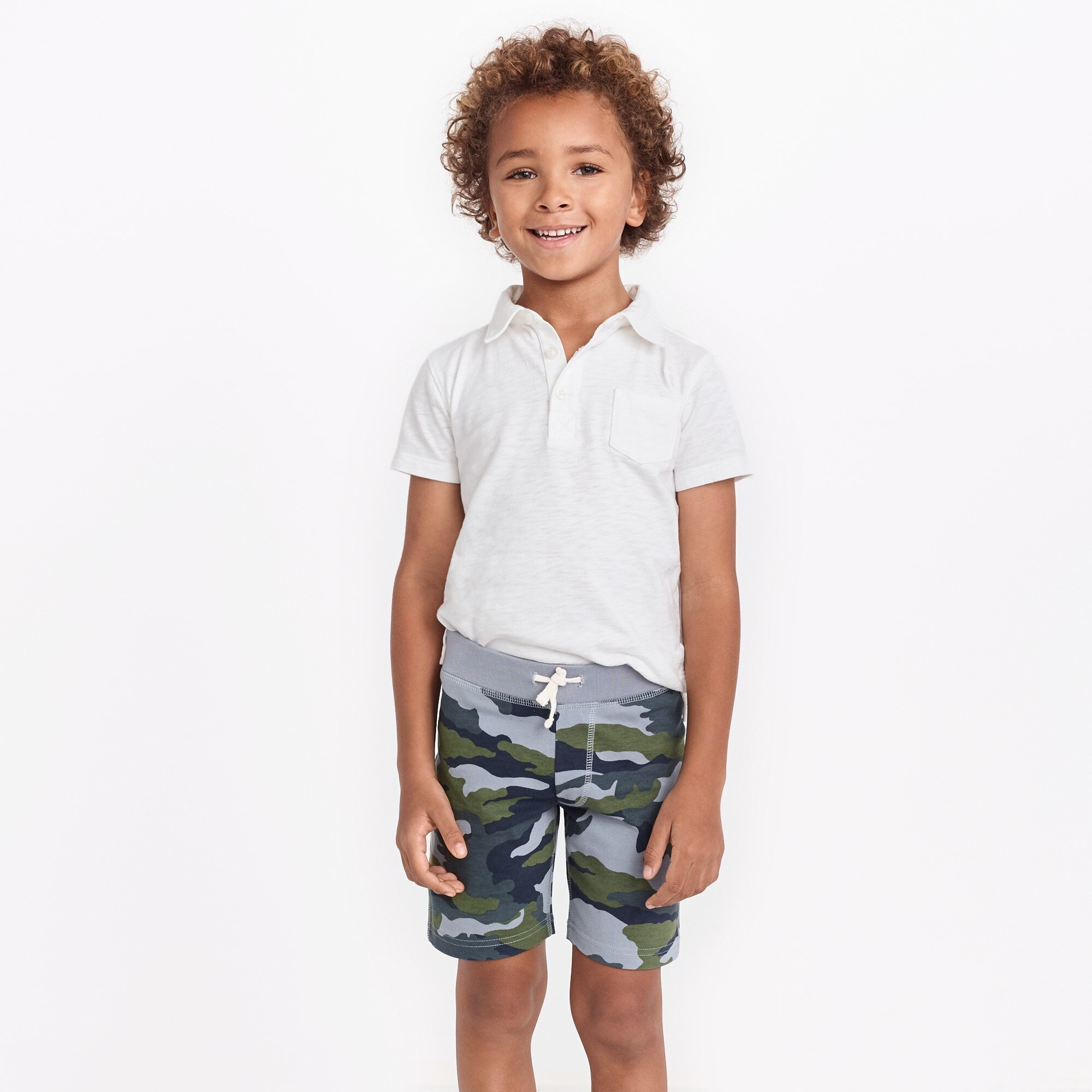 Boys' camo knit short factoryboys the camp shop c