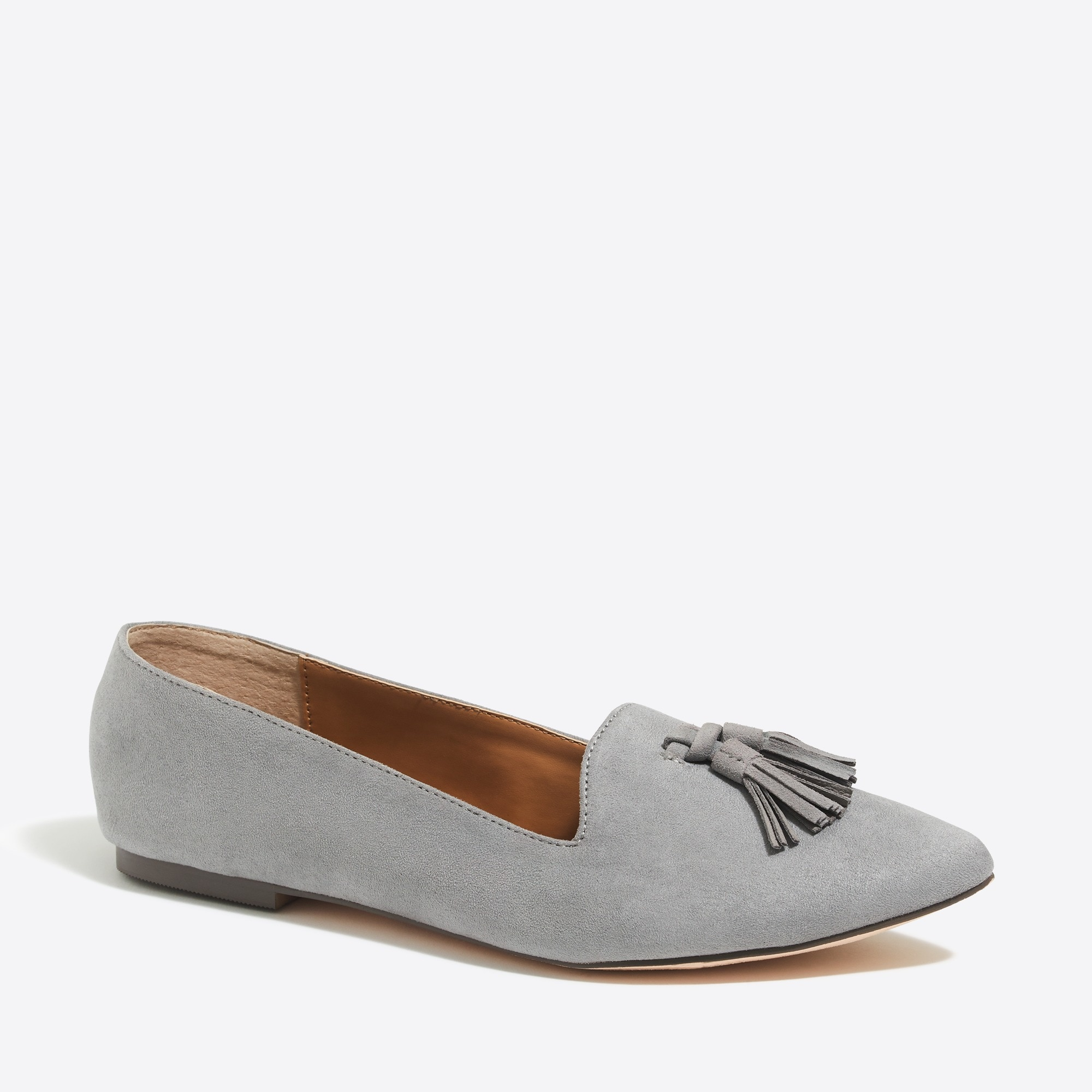 Edie suede loafers with tassels factorywomen shoes c