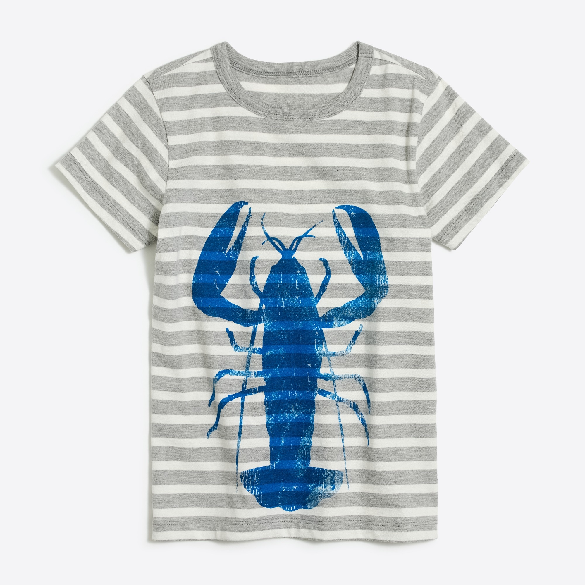 Boys' short-sleeve lobster graphic T-shirt factoryboys the camp shop c