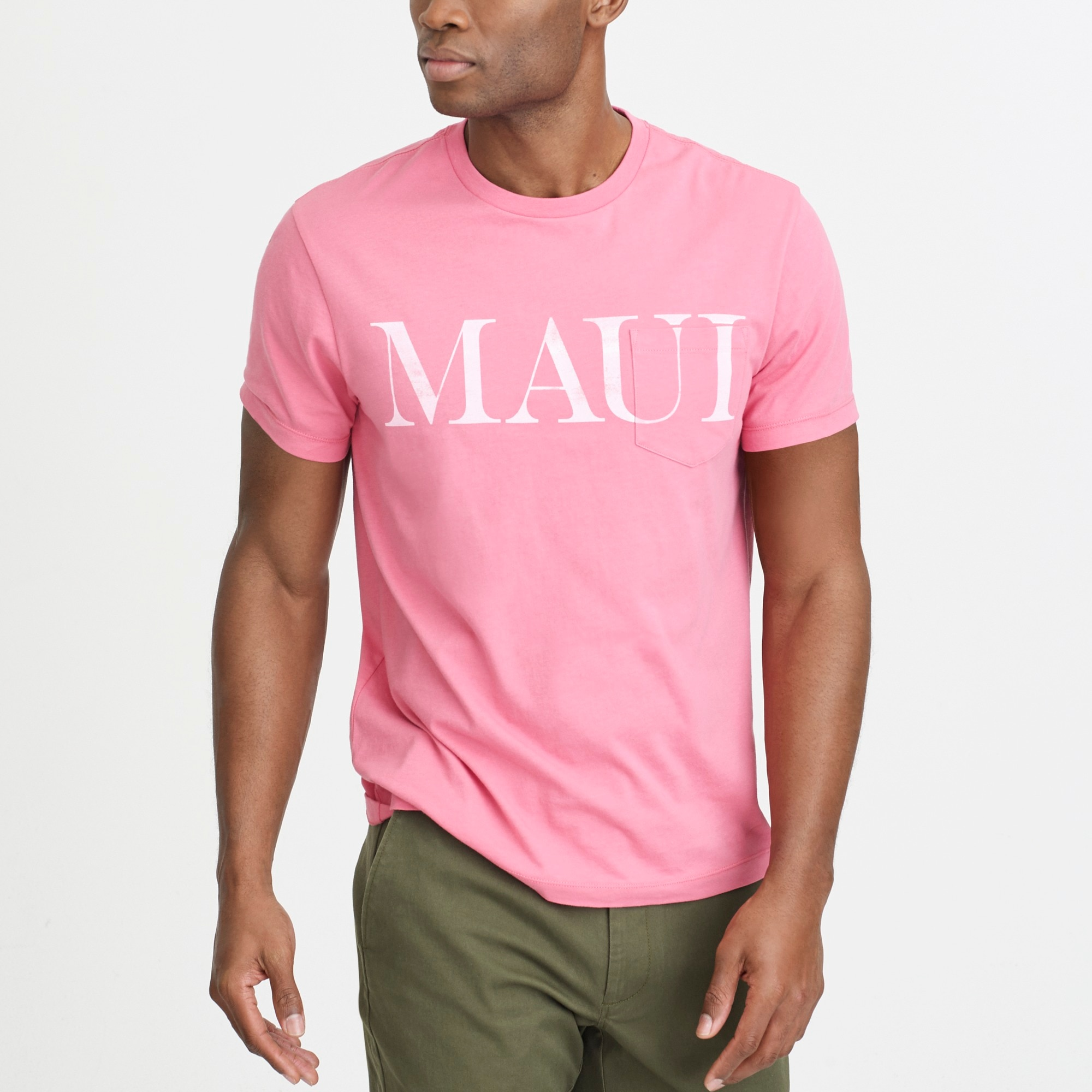 J.Crew Mercantile Broken-in Maui T-shirt