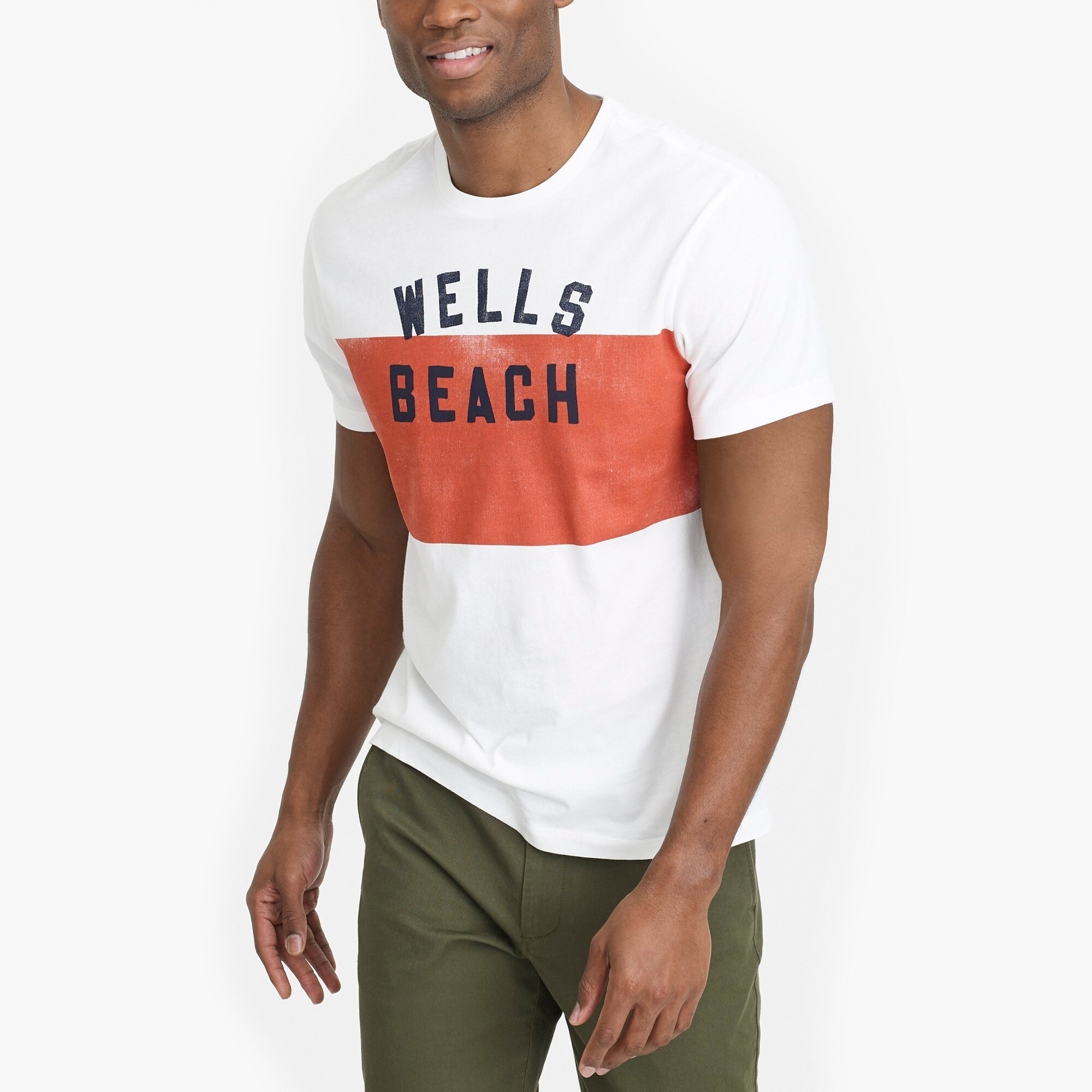 J.Crew Mercantile Broken-in Wells Beach T-shirt factorymen t-shirts & henleys c