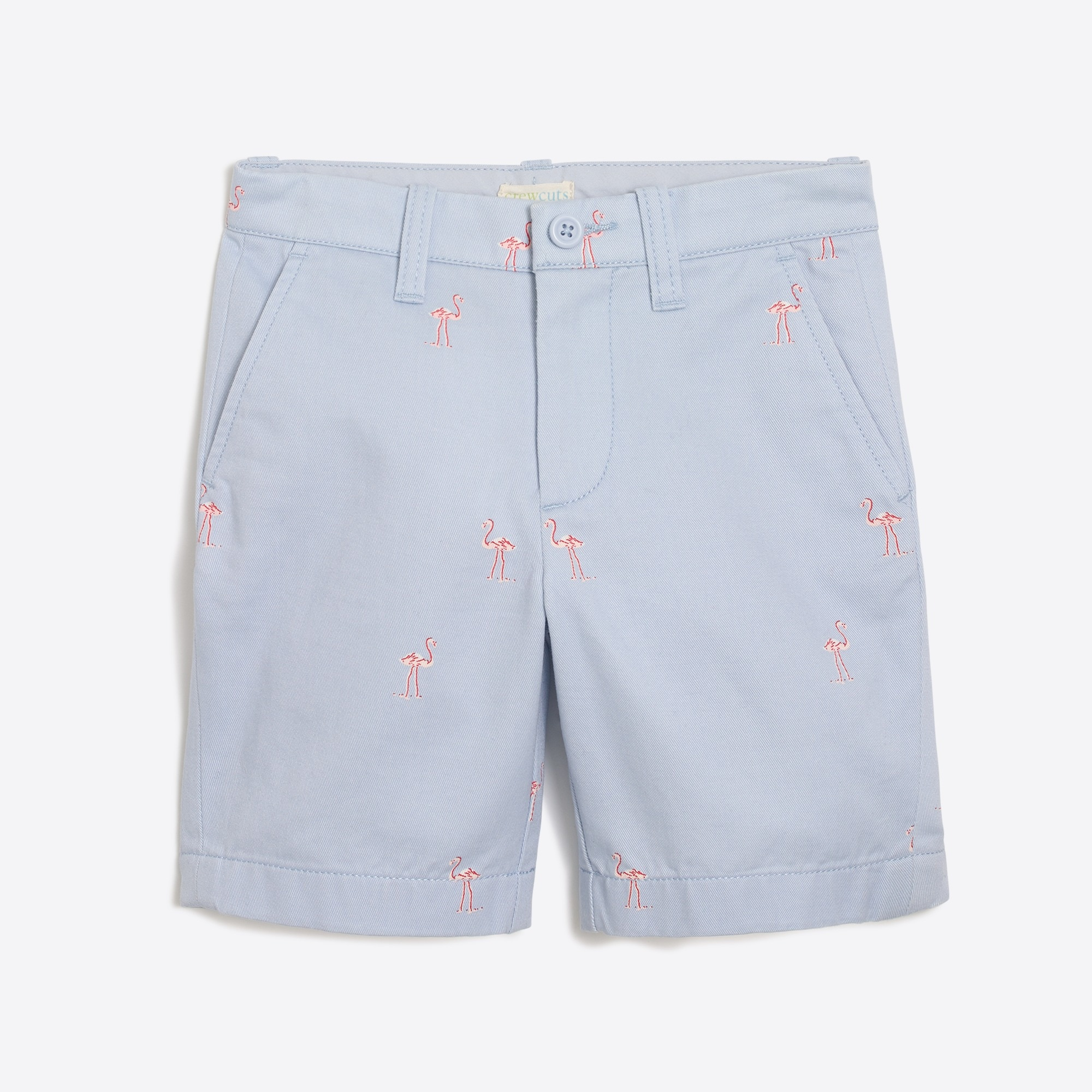Image 2 for Boys' gramercy critter short in flamingos