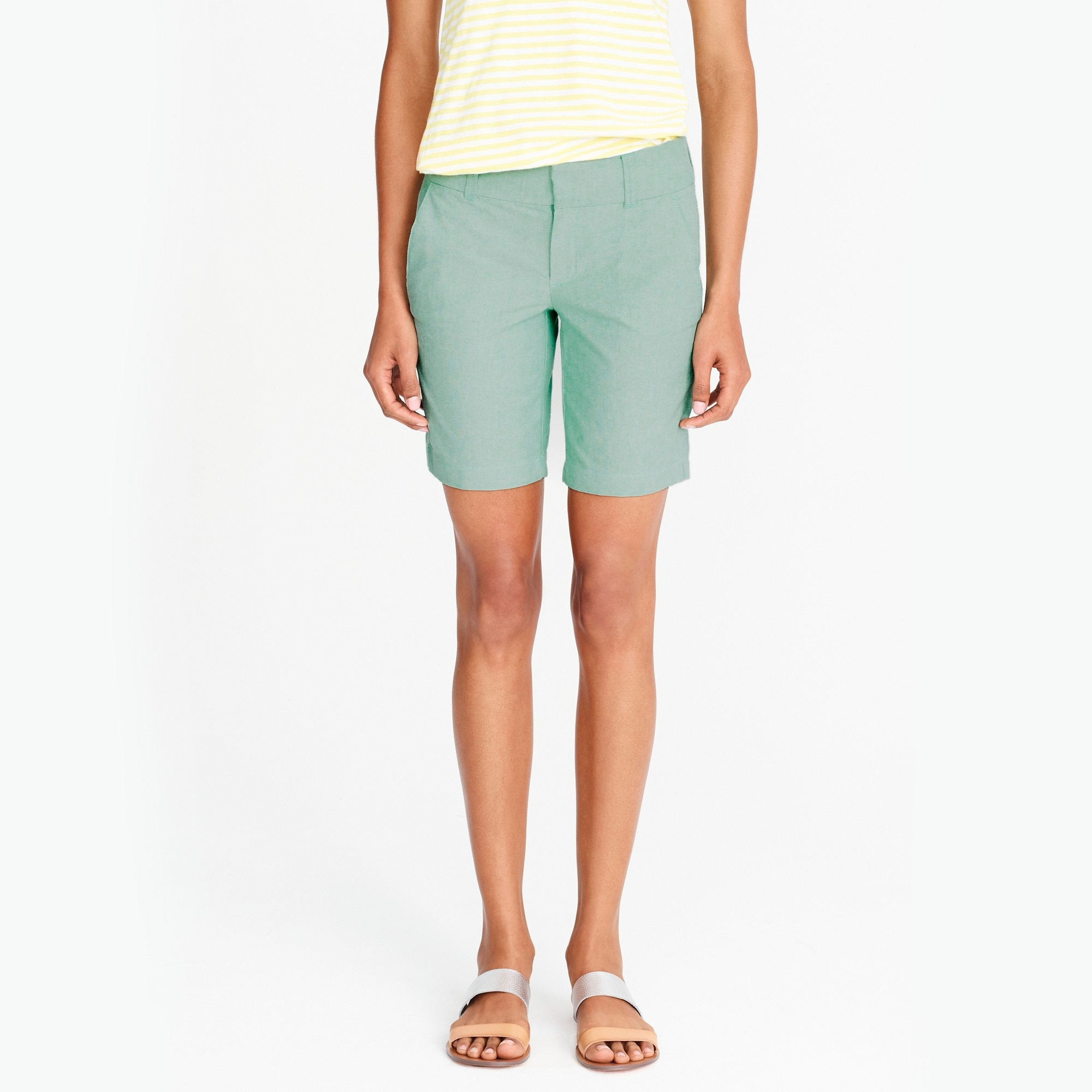 frankie short in oxford cloth : factorywomen cotton & chino