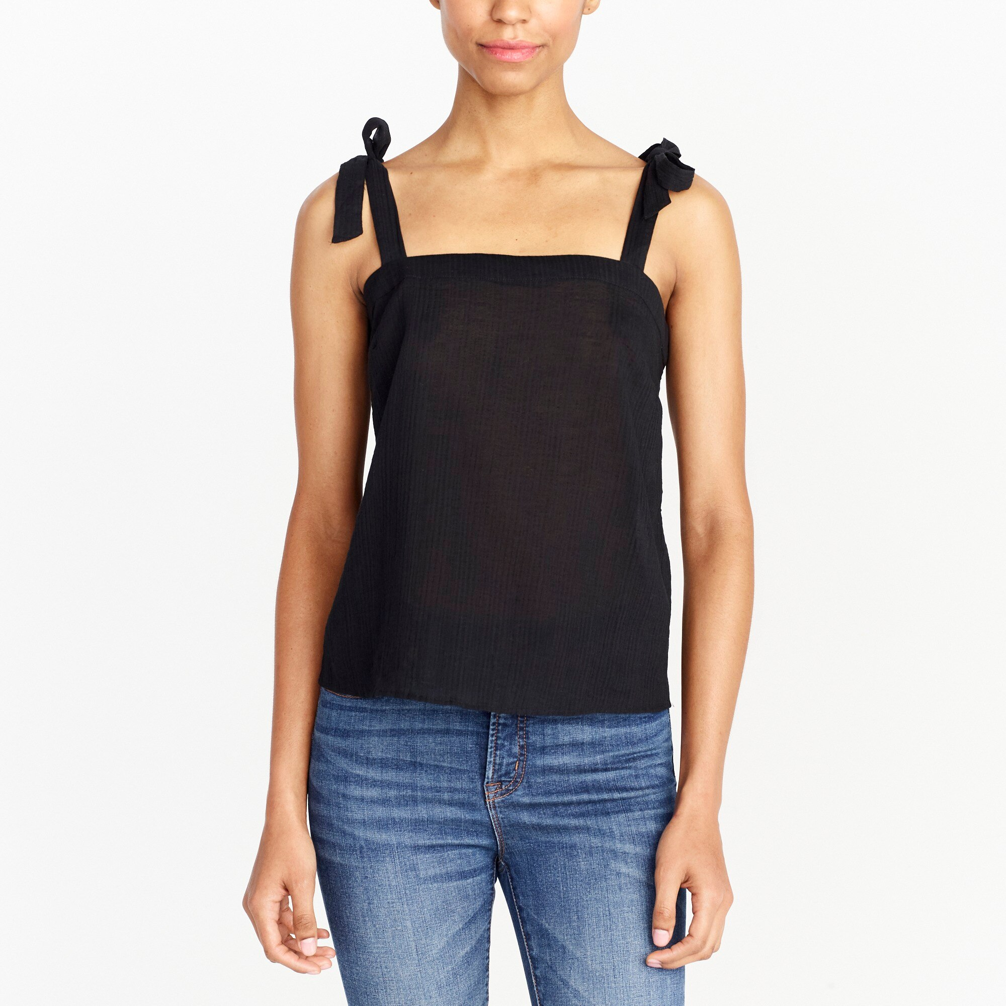 tie-shoulder cami top : factorywomen blouses & tops