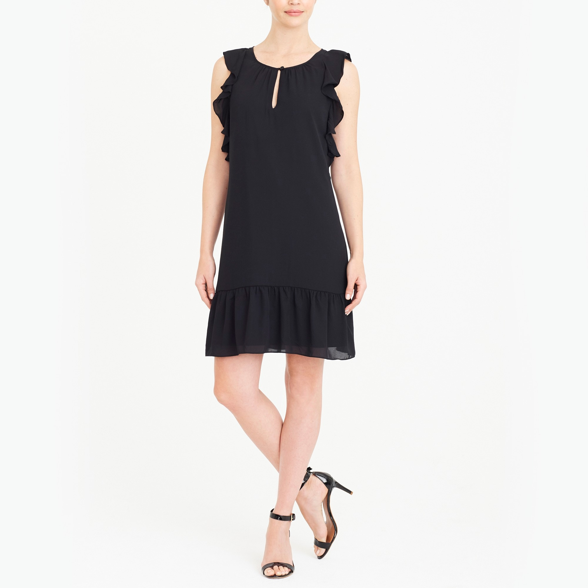 Flutter-sleeve dress factorywomen new arrivals c