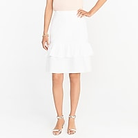 Image 1 for Tiered ruffle midi skirt