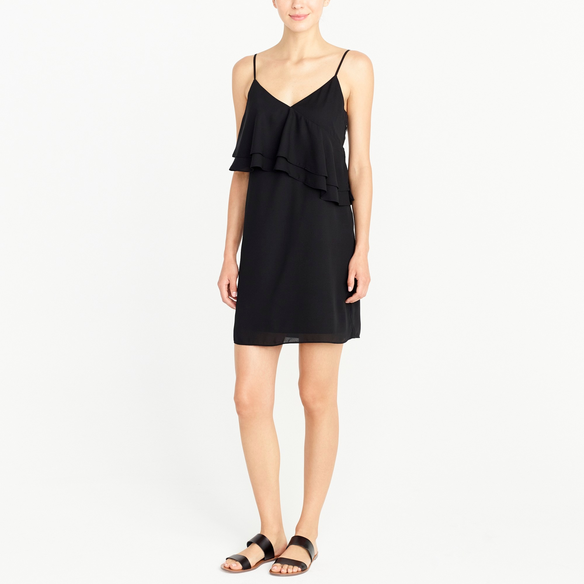 Image 1 for Ruffle-front cami dress