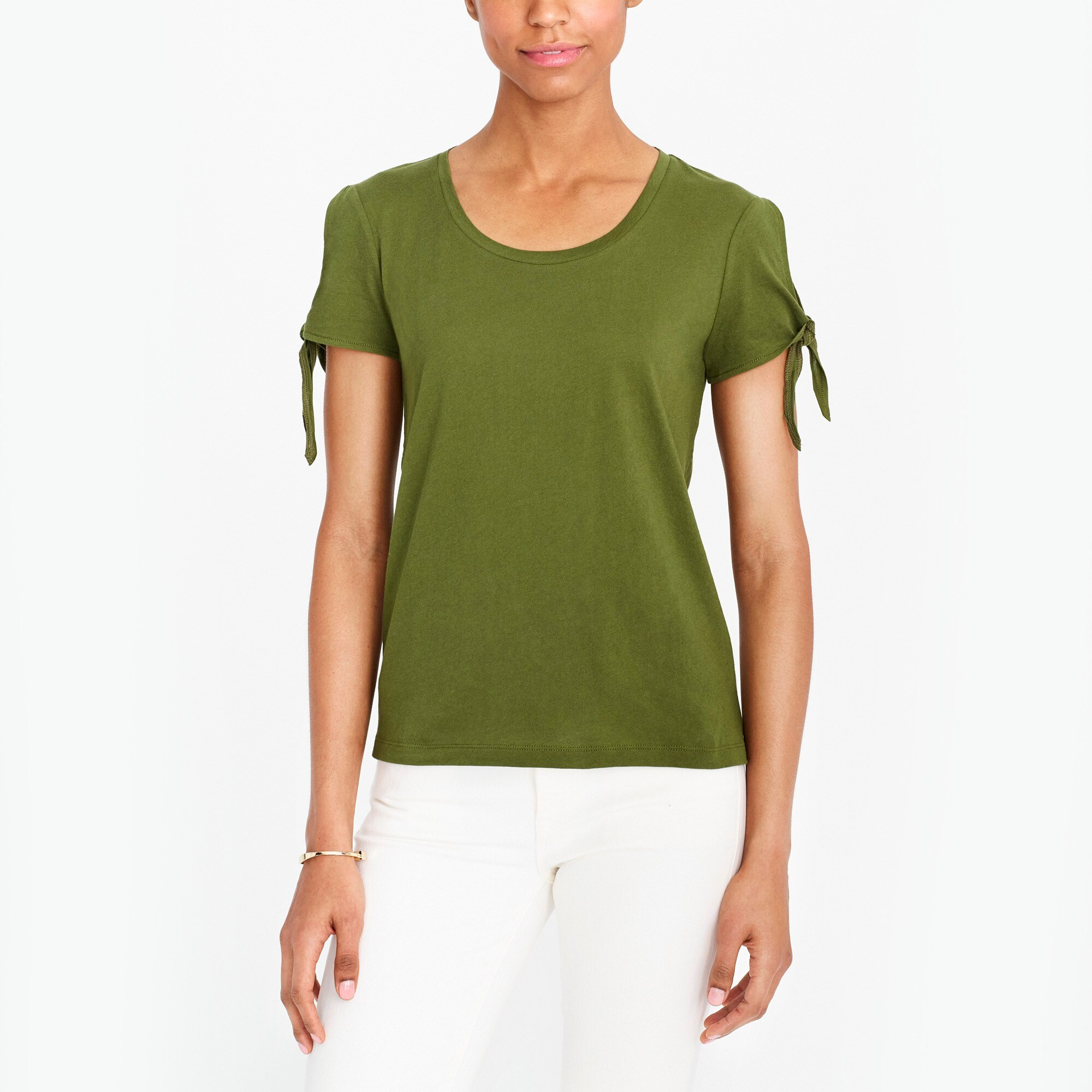 Tie-shoulder T-shirt factorywomen the score: tie-shoulder t-shirts and sidewalk skirts c