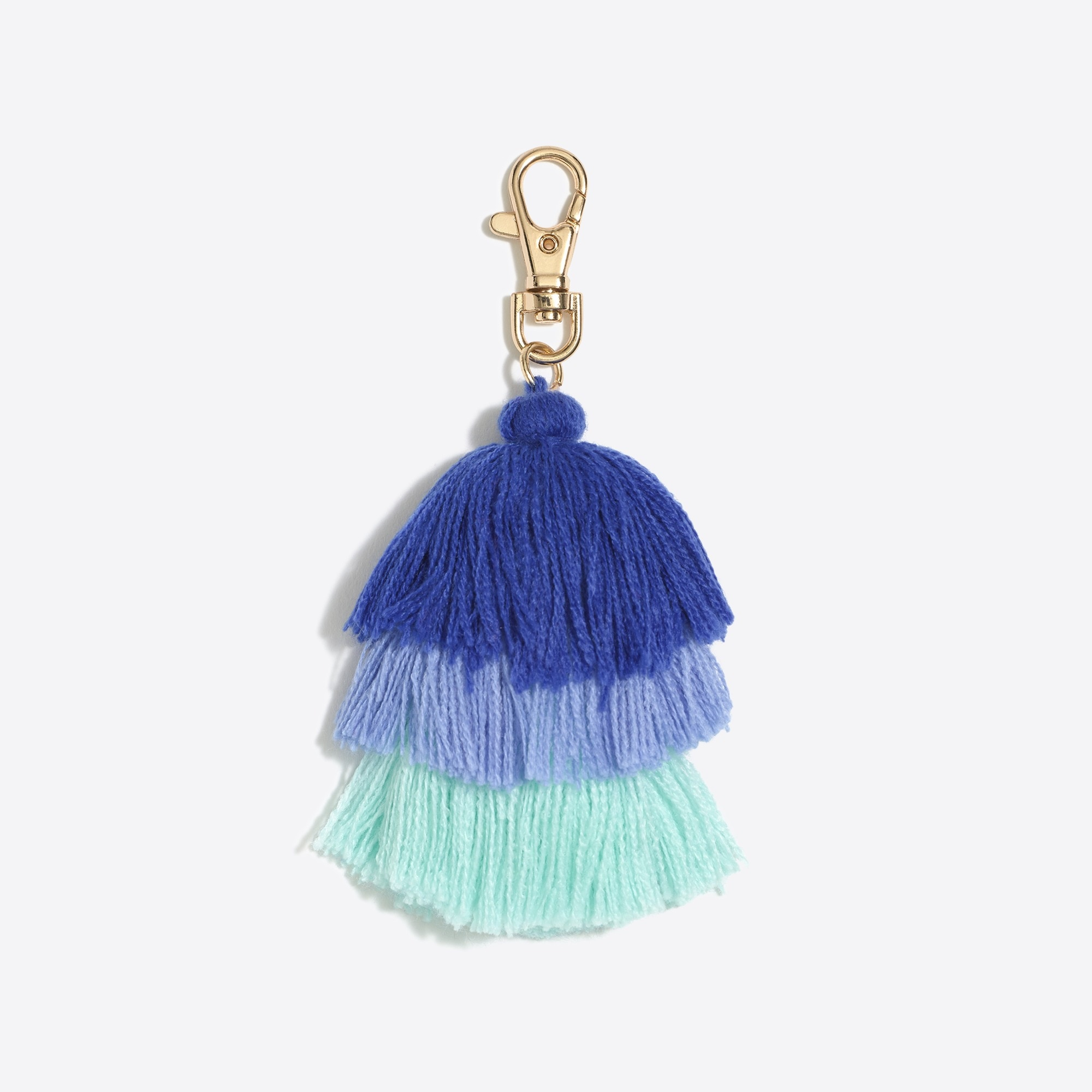 Layered tassel key fob factorywomen accessories c