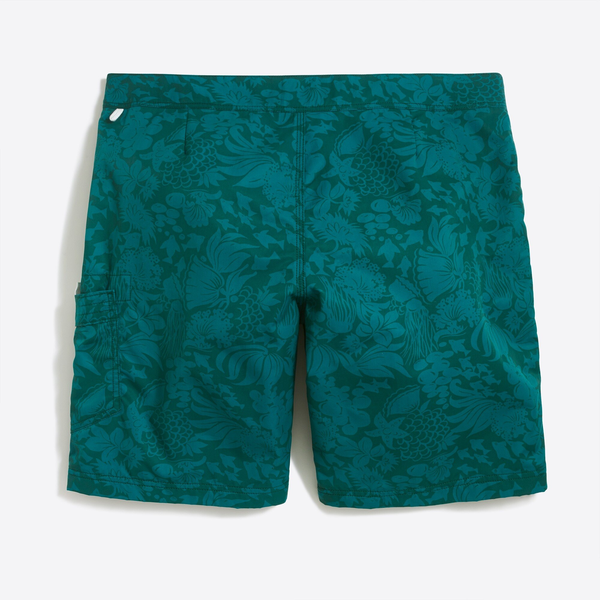 "Image 3 for 9"" printed swim short"