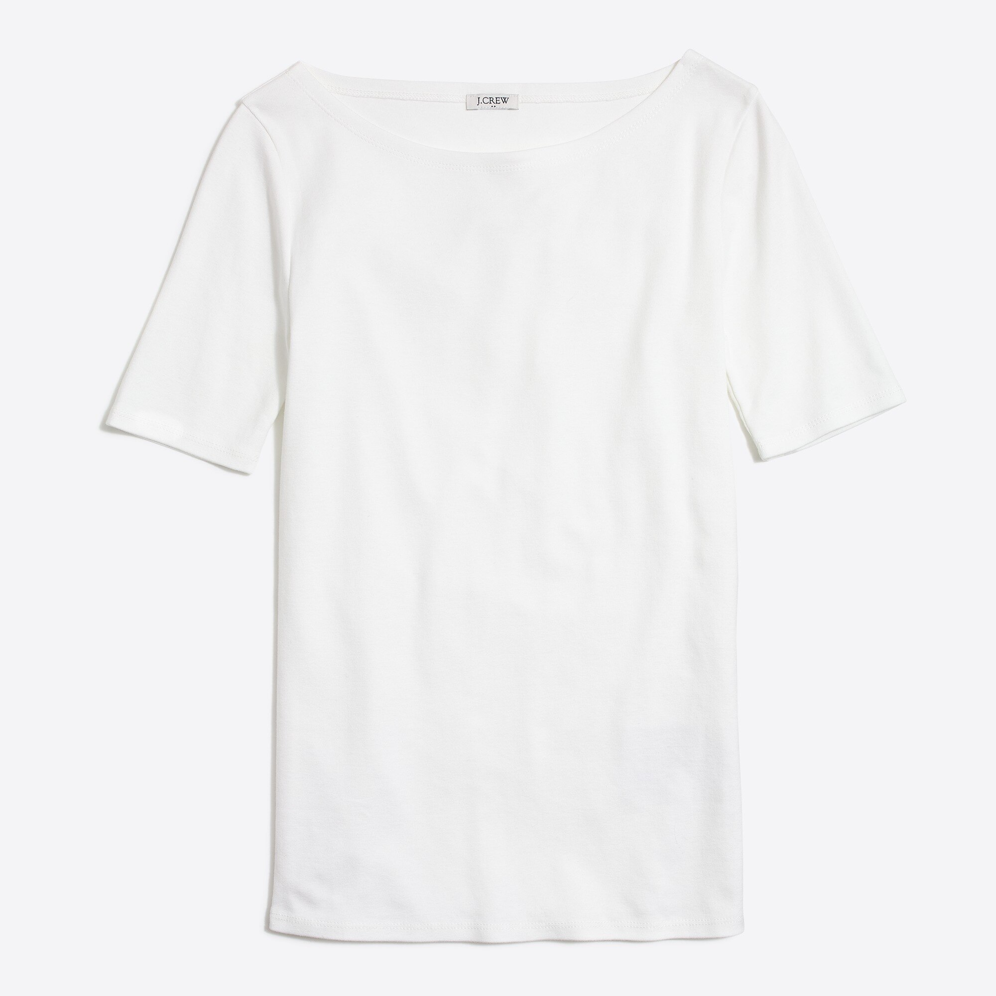 factory womens Perfect-fit open-neck T-shirt