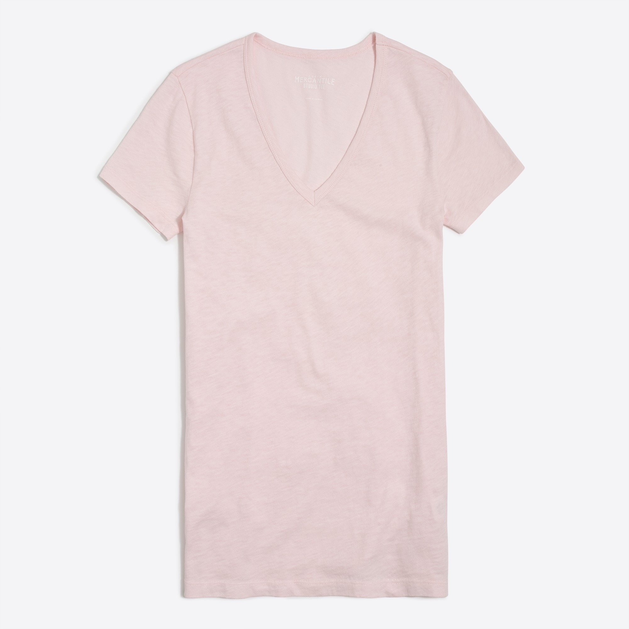 J.Crew Mercantile v-neck Studio T-shirt factorywomen new arrivals c