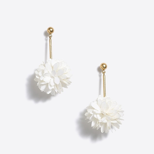 j.crew factory: blossom drop earrings