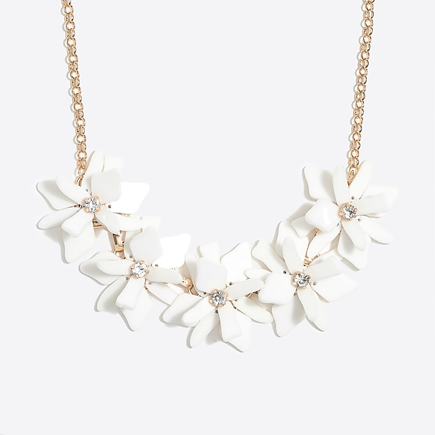 j.crew factory: flower petal necklace