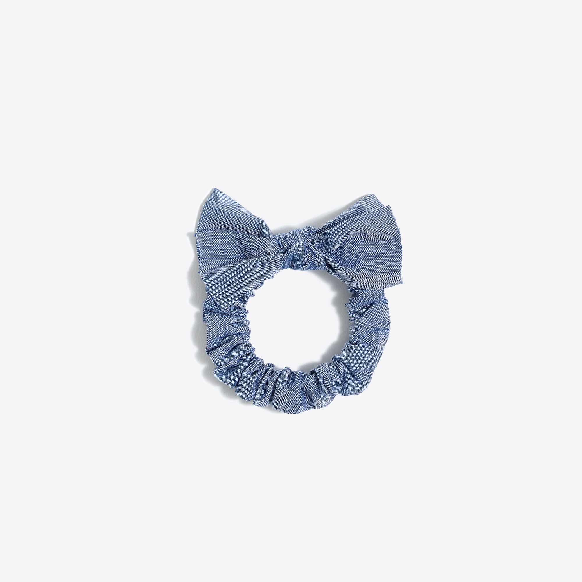 factory girls Bow-top scrunchie