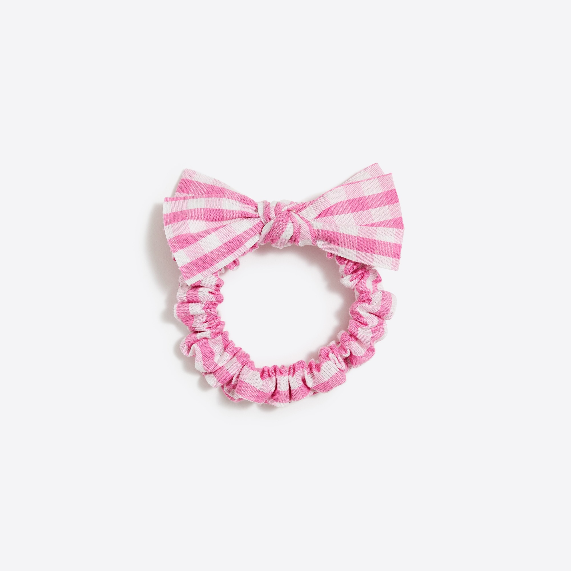 Bow-top scrunchie factorygirls jewelry & accessories c