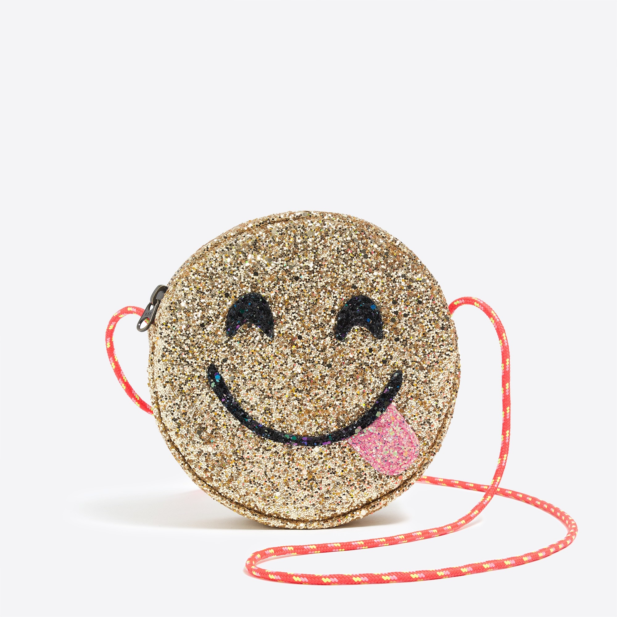 factory girls Glitter emoji bag