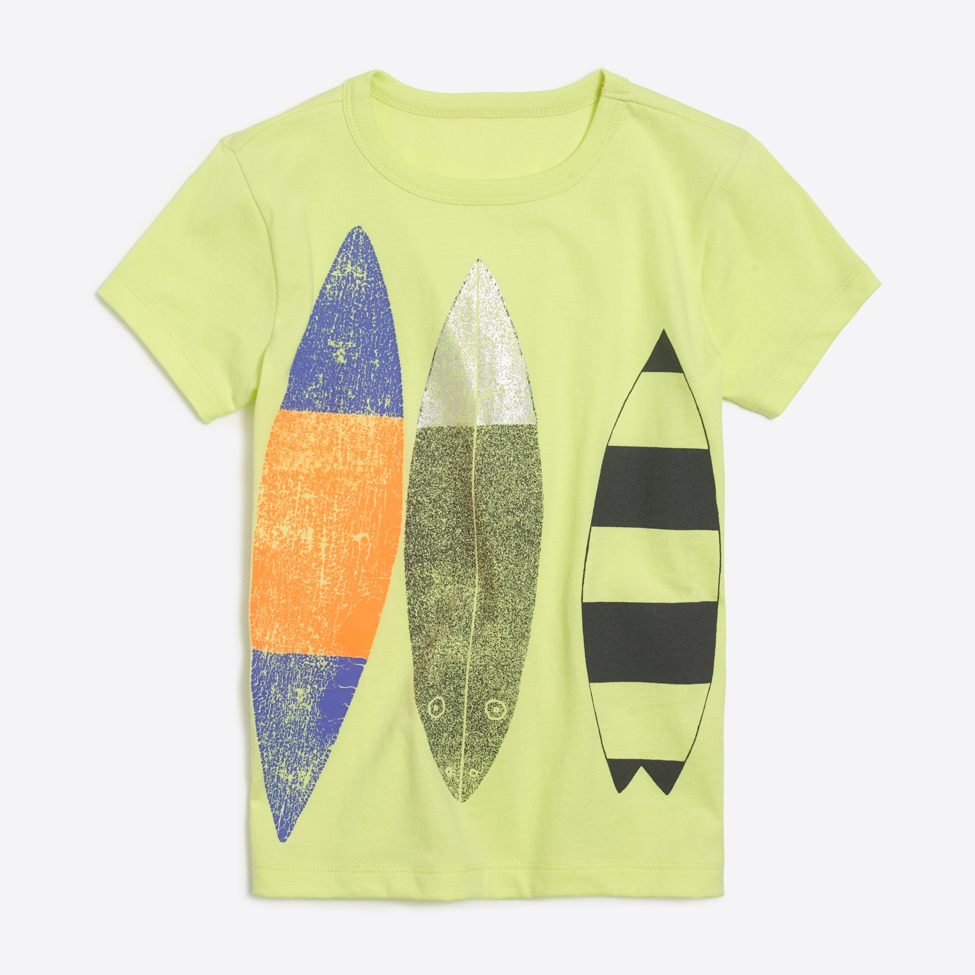 Boys' short-sleeve surfboards graphic T-shirt factoryboys knits & t-shirts c