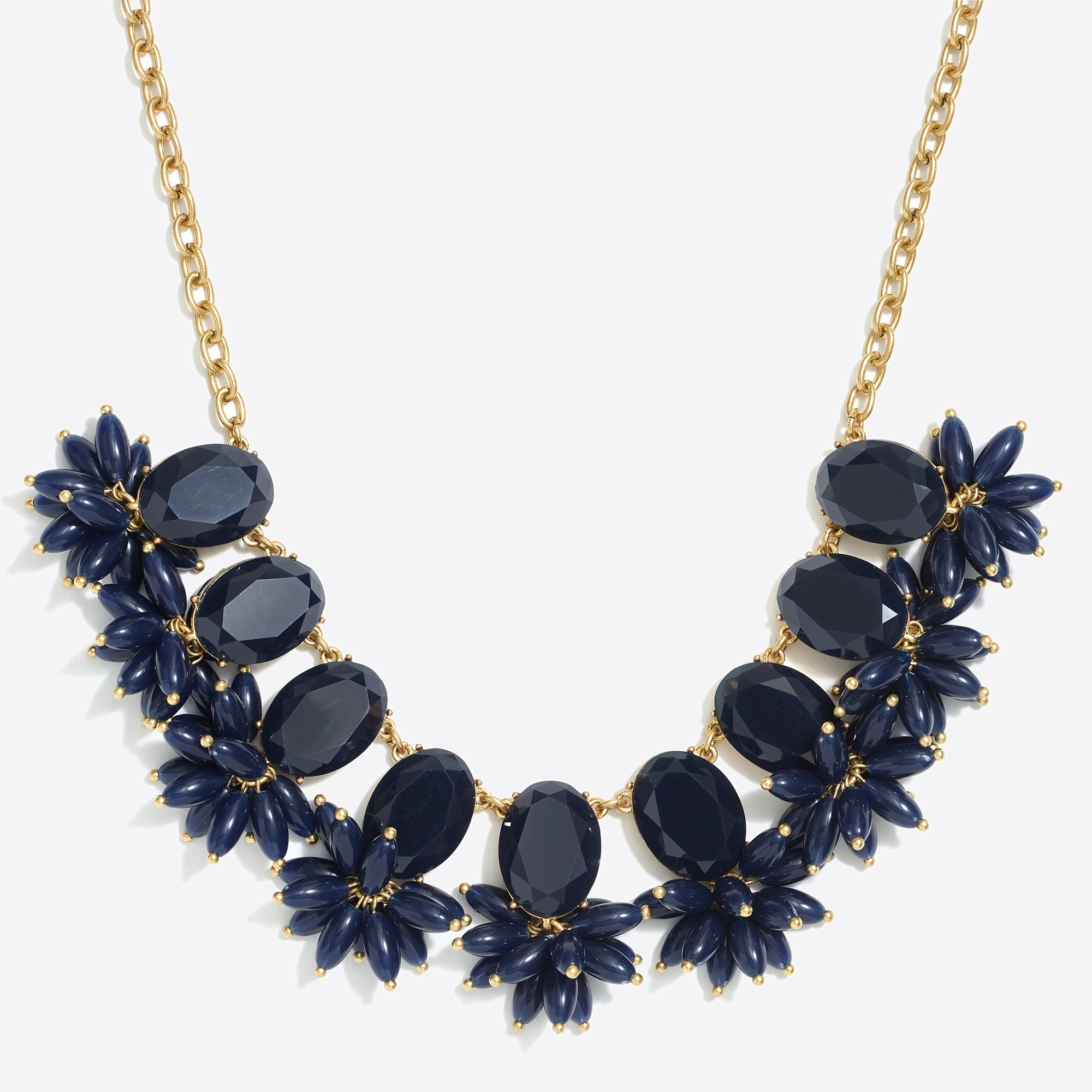 Image 1 for Bursting beads statement necklace