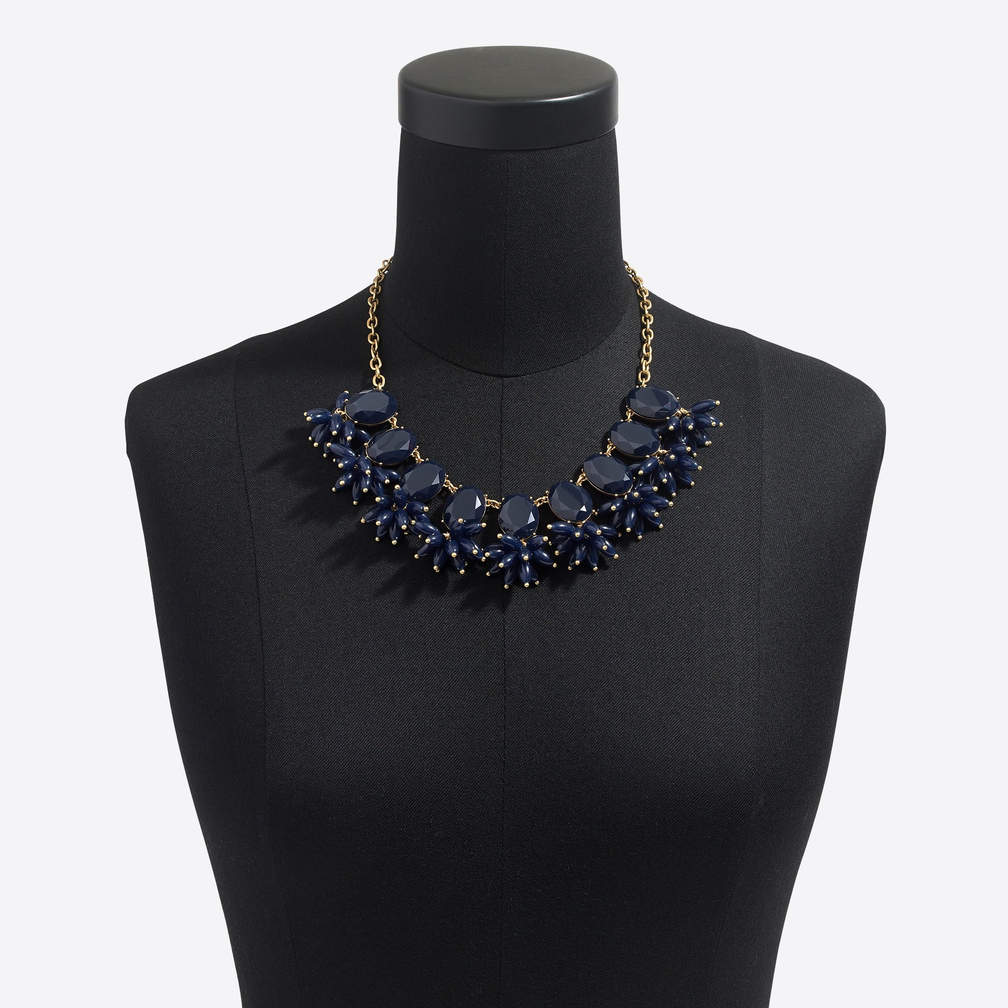 Bursting beads statement necklace