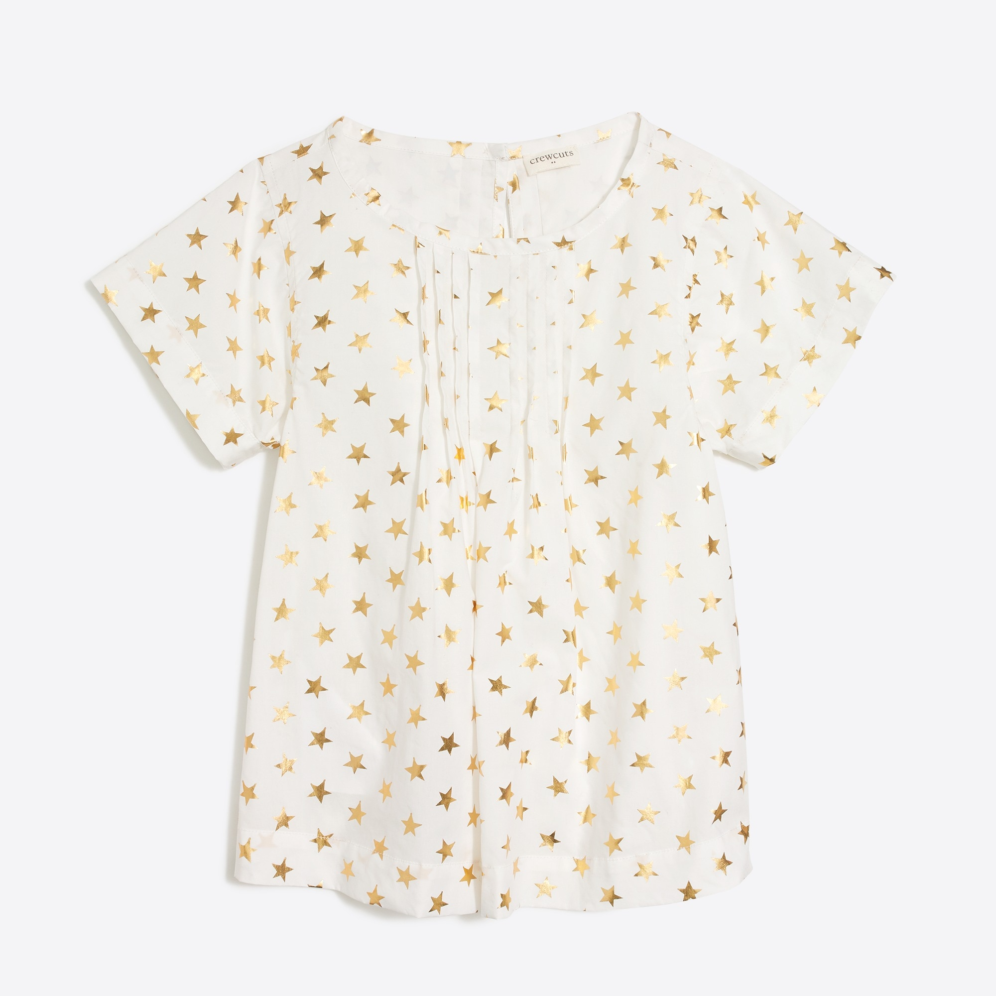 factory girls Girls' short-sleeve starry top