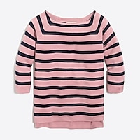 Image 1 for Girls' striped baseball sweater