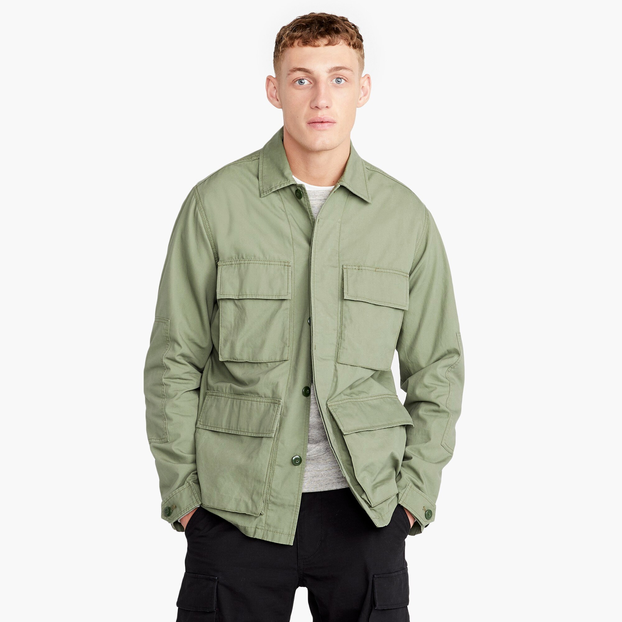 factory mens J.Crew Mercantile Field jacket