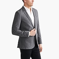 Thompson blazer in brushed cotton